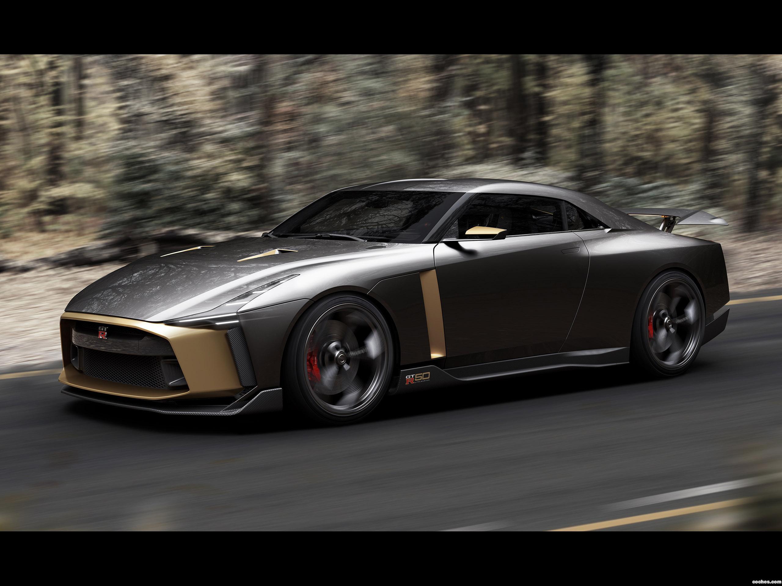Foto 9 de Nissan GT-R50 Concept by Italdesign 2018