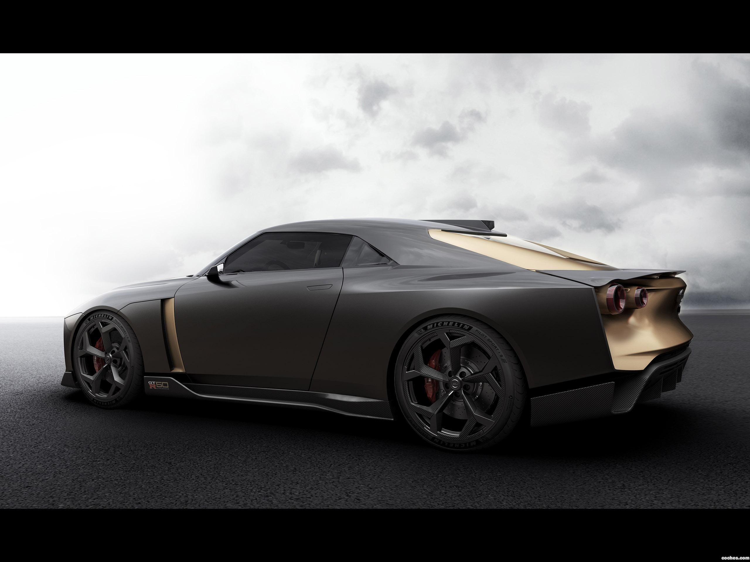 Foto 8 de Nissan GT-R50 Concept by Italdesign 2018