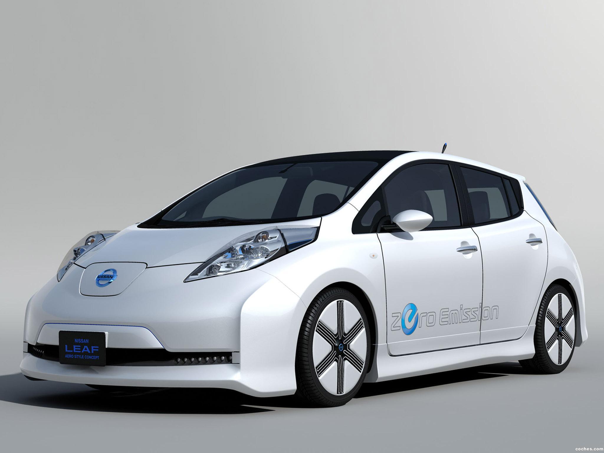 Foto 0 de Nissan Leaf Aero Style Concept 2011
