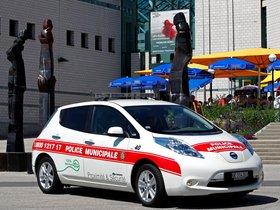 Ver foto 3 de Nissan Leaf Swiss Police Car 2013
