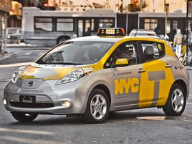 Ver foto 2 de Nissan Leaf Taxi USA 2013