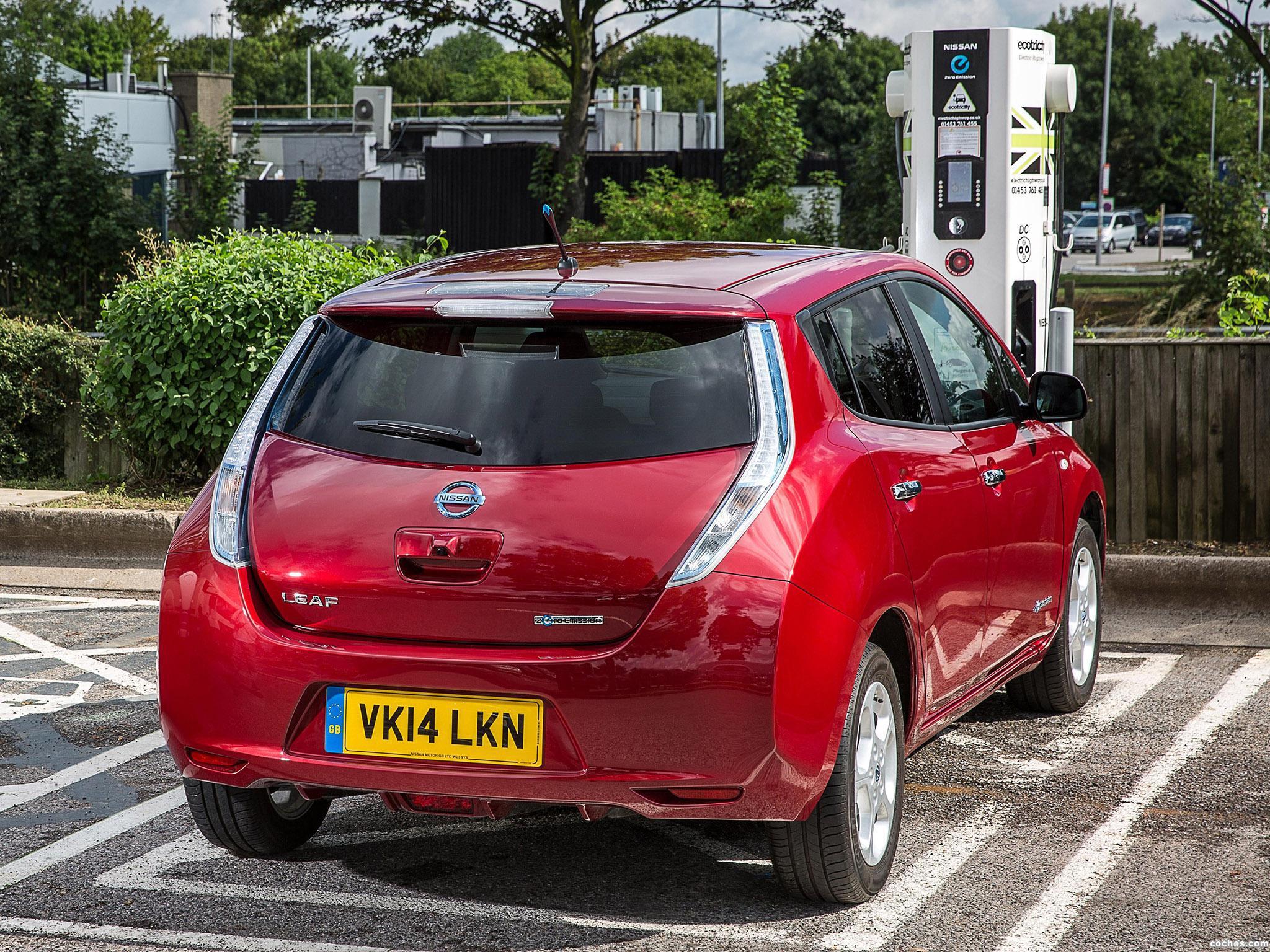 Foto 5 de Nissan Leaf UK 2013