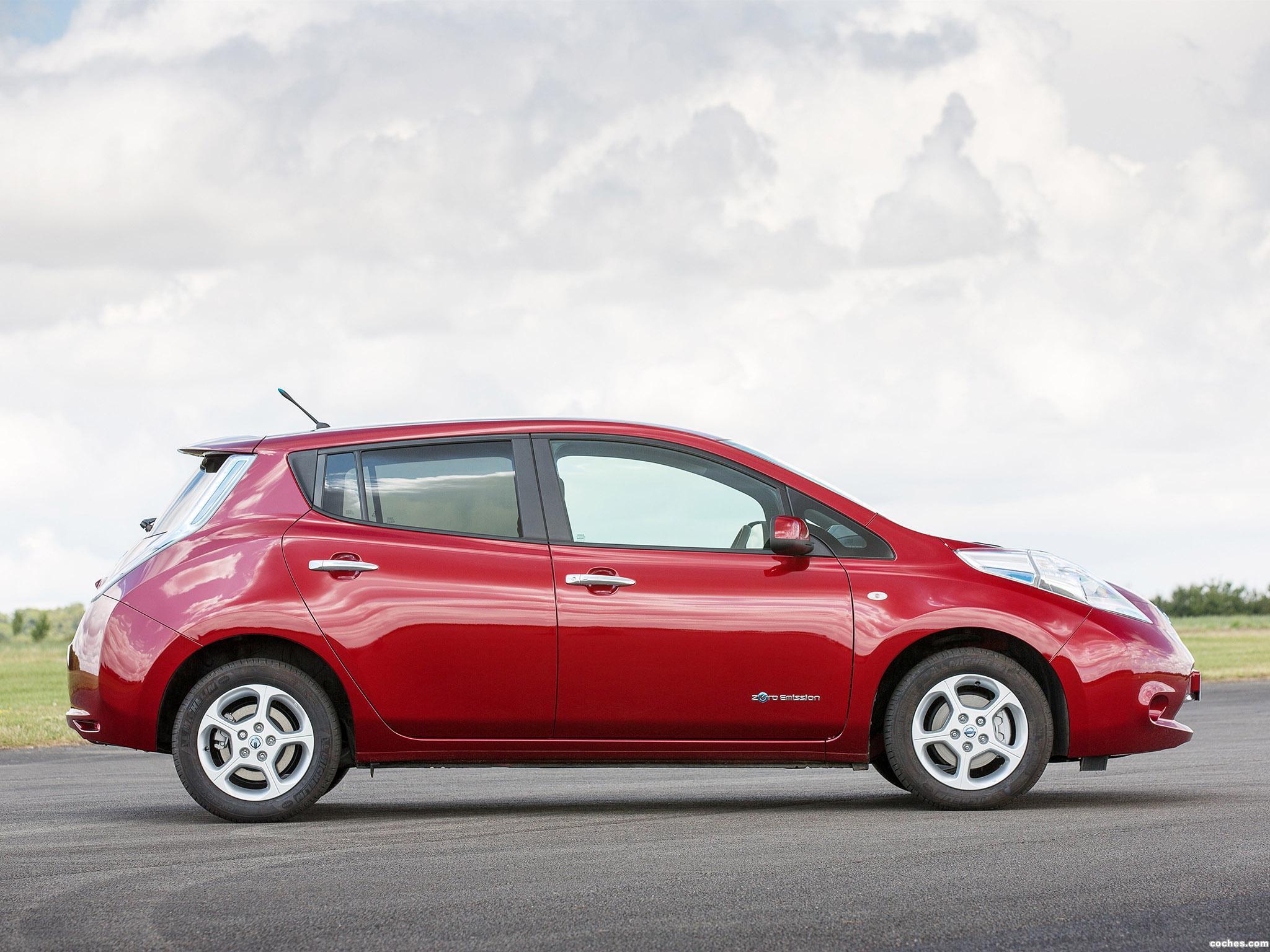 Foto 3 de Nissan Leaf UK 2013