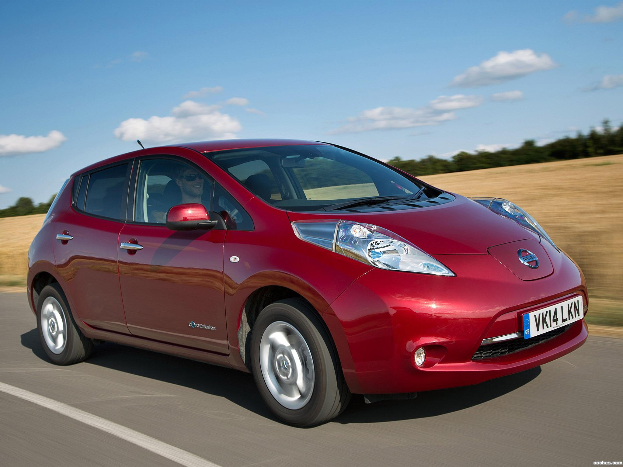 Foto 0 de Nissan Leaf UK 2013