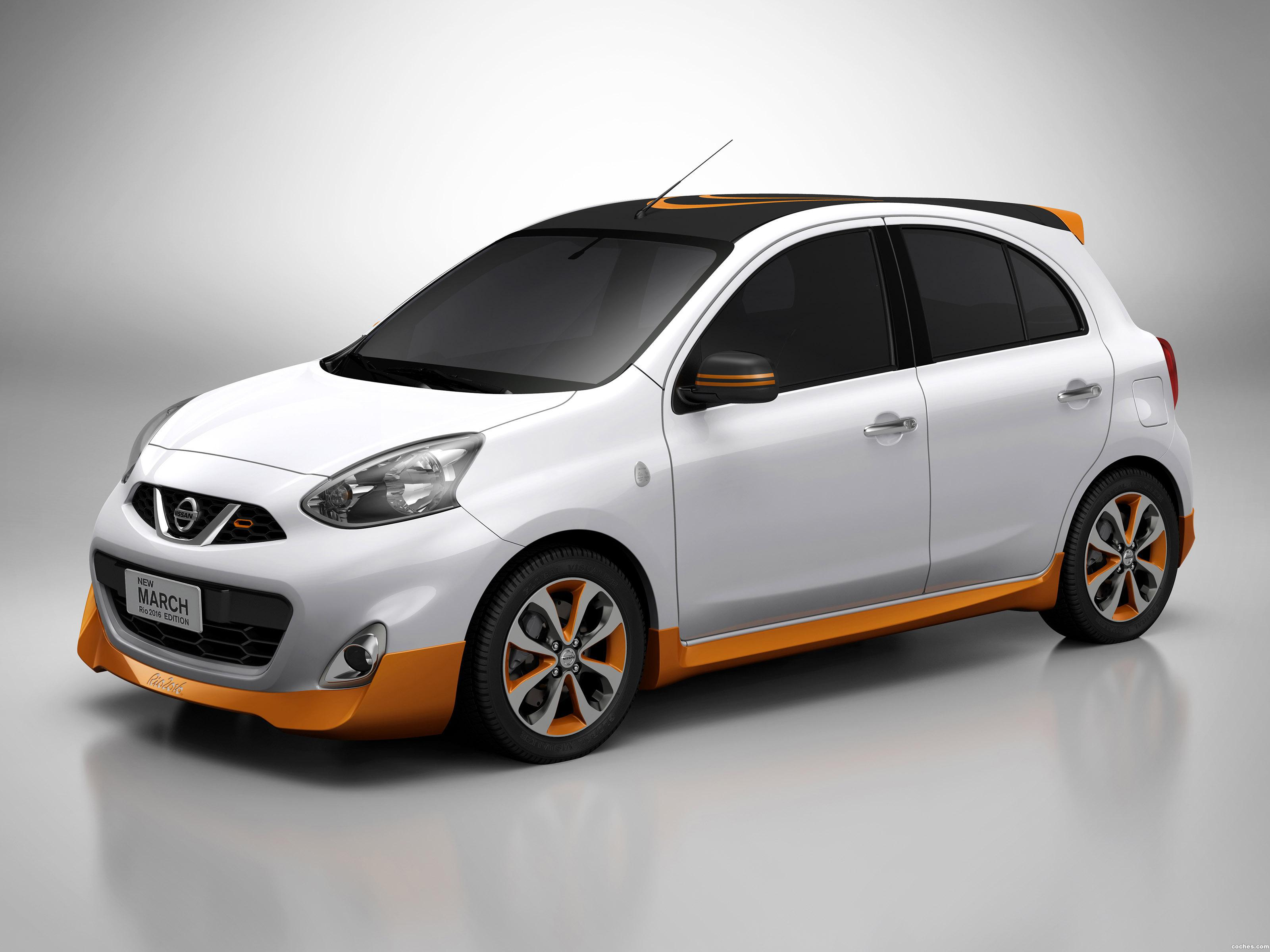 Foto 0 de Nissan March Rio 2016 Concept K13 2014