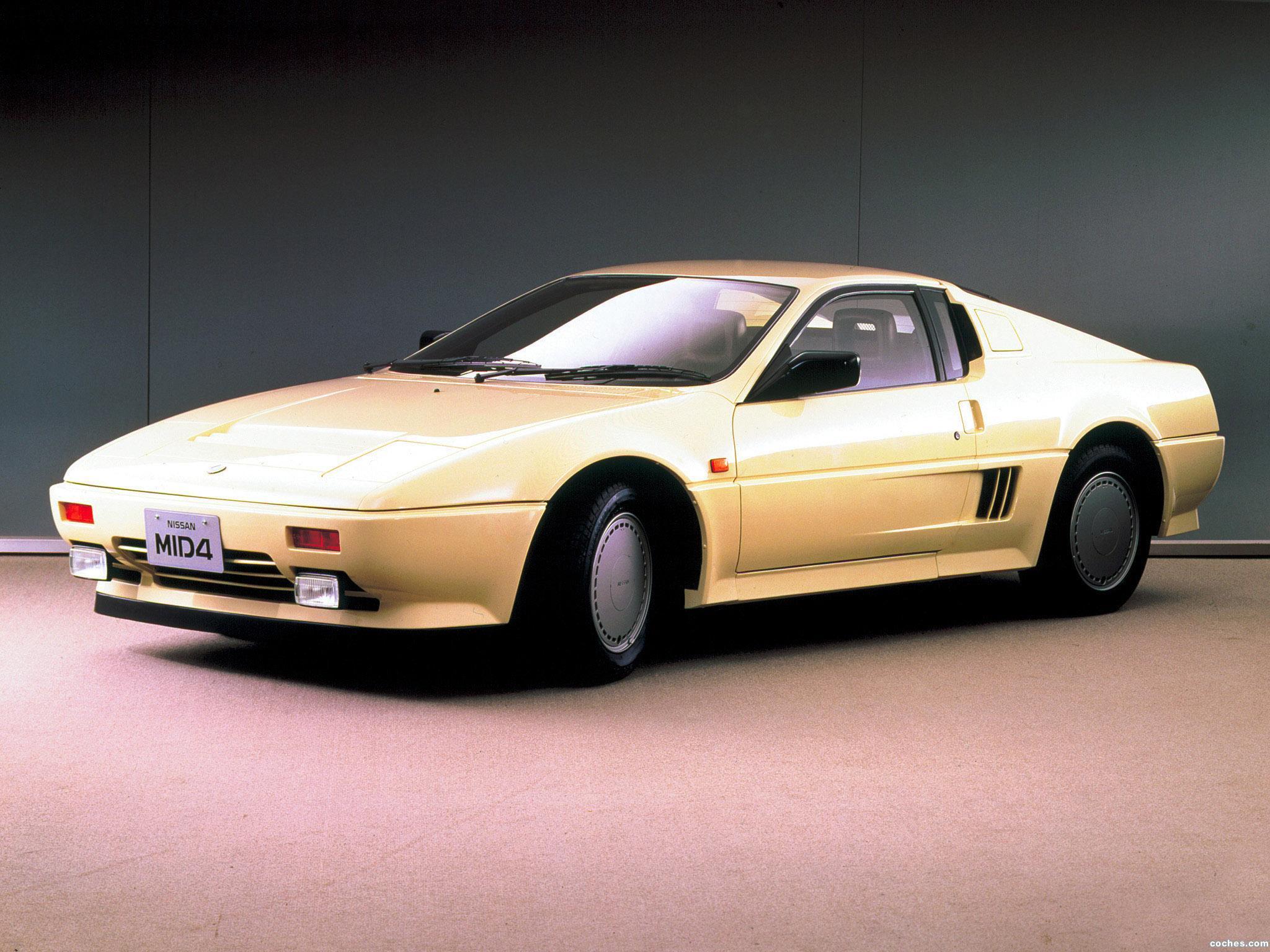 Foto 0 de Nissan Mid4 Type I Concept 1985