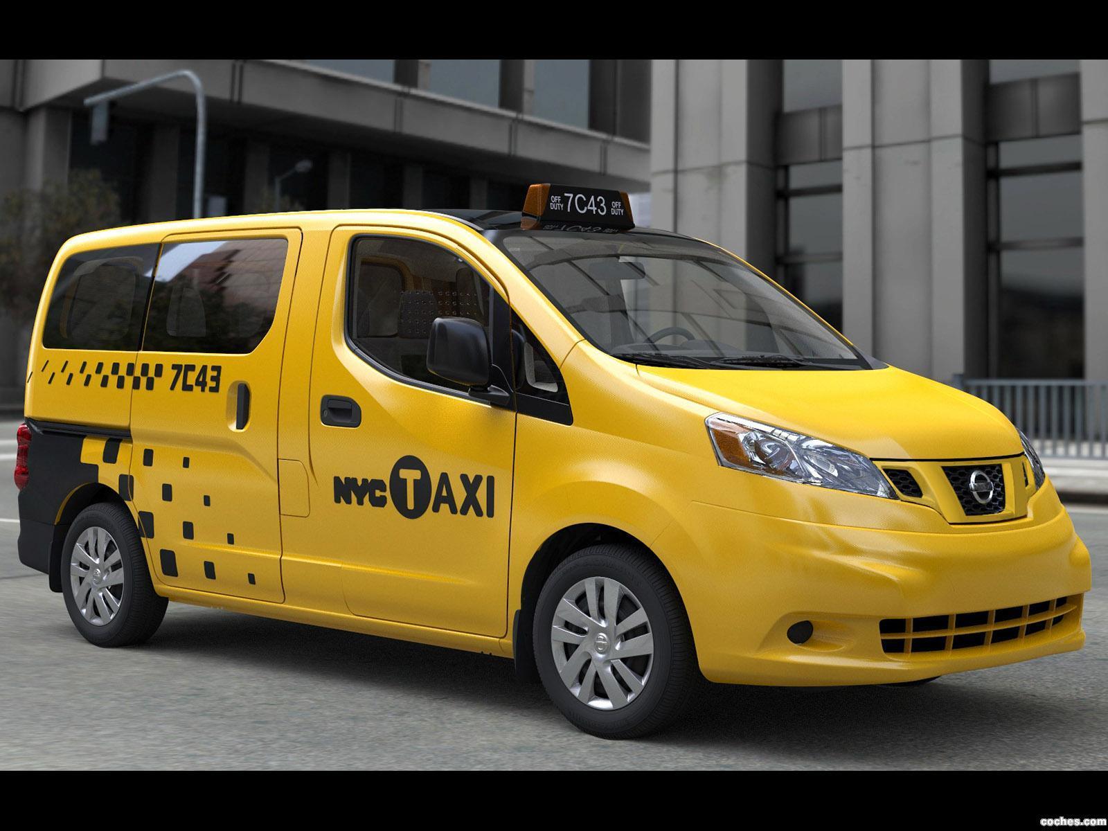 Foto 0 de Nissan NV200 NYC Taxi 2011