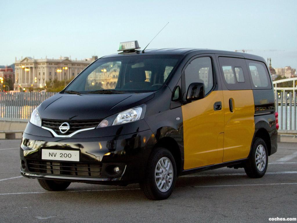 Foto 0 de Nissan NV200 Taxi 2012