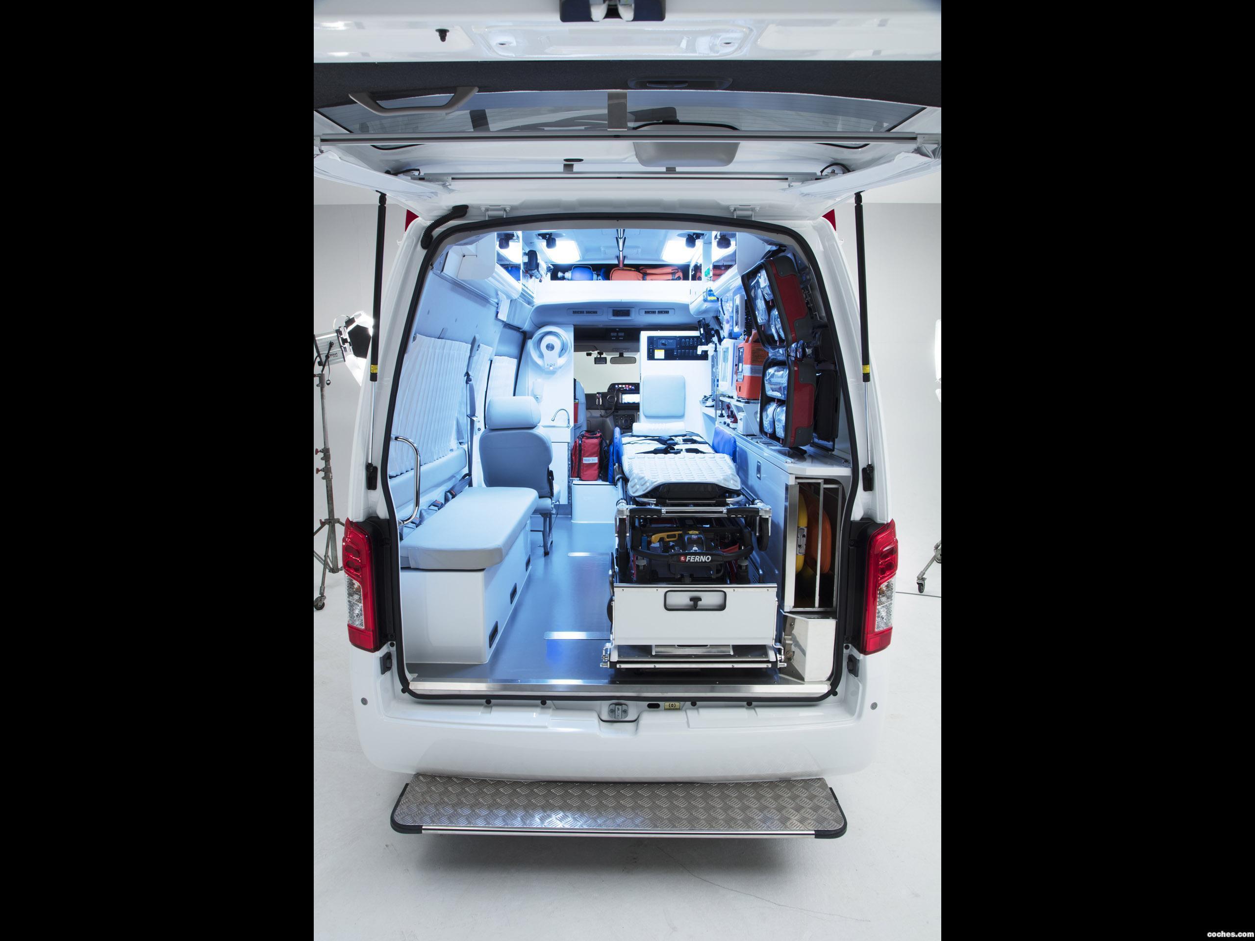 Foto 11 de Nissan NV350 Caravan Paramedic Concept  2017