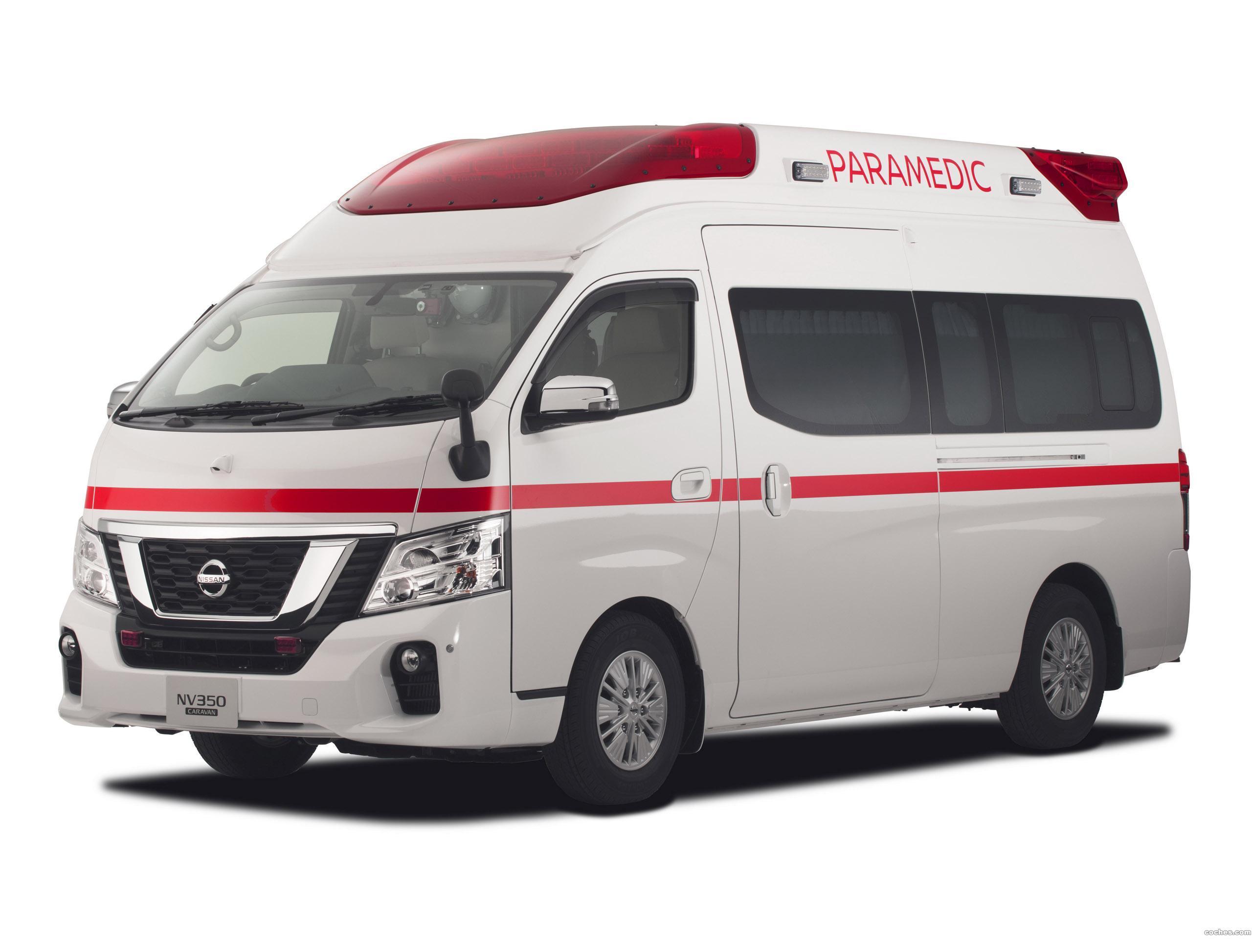 Foto 1 de Nissan NV350 Caravan Paramedic Concept  2017