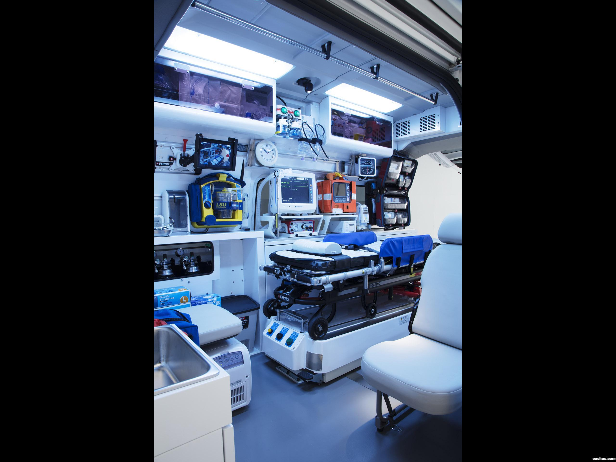 Foto 9 de Nissan NV350 Caravan Paramedic Concept  2017