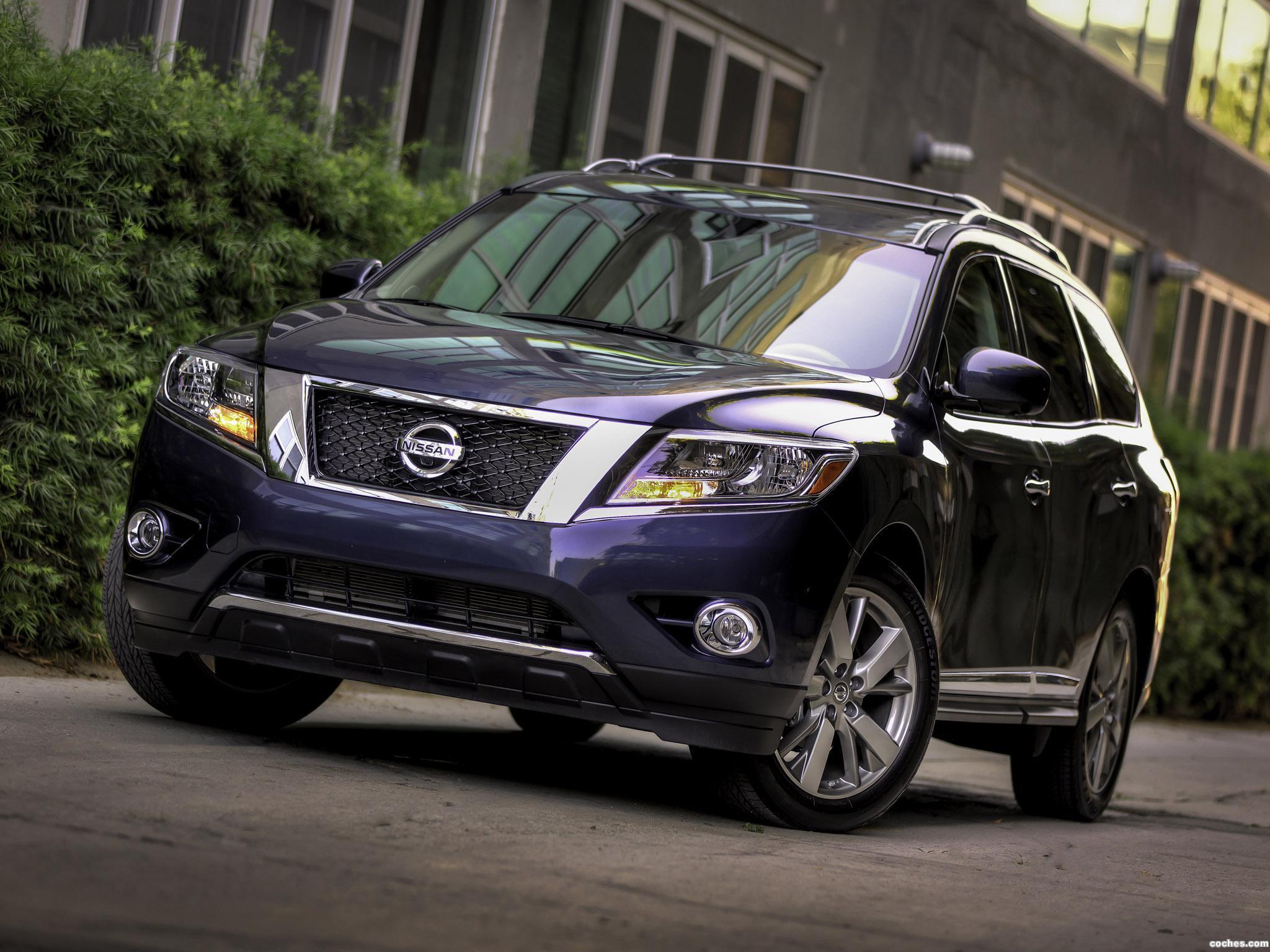 Foto 0 de Nissan Pathfinder Platinum R52 USA 2013