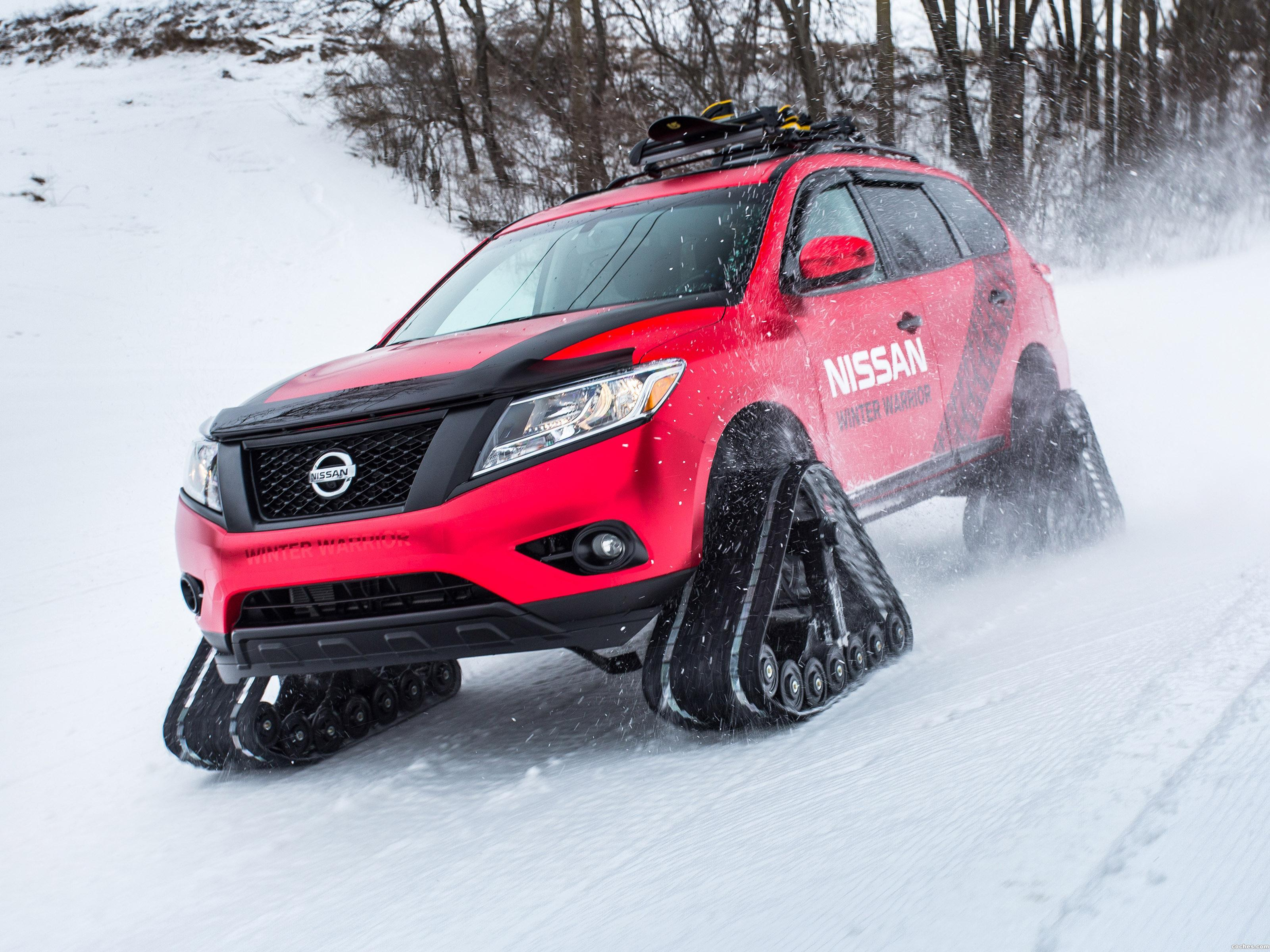 Foto 0 de Nissan Pathfinder Winter Warrior Concept  2016