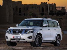 Ver foto 1 de Nissan Patrol Desert Edition 2015