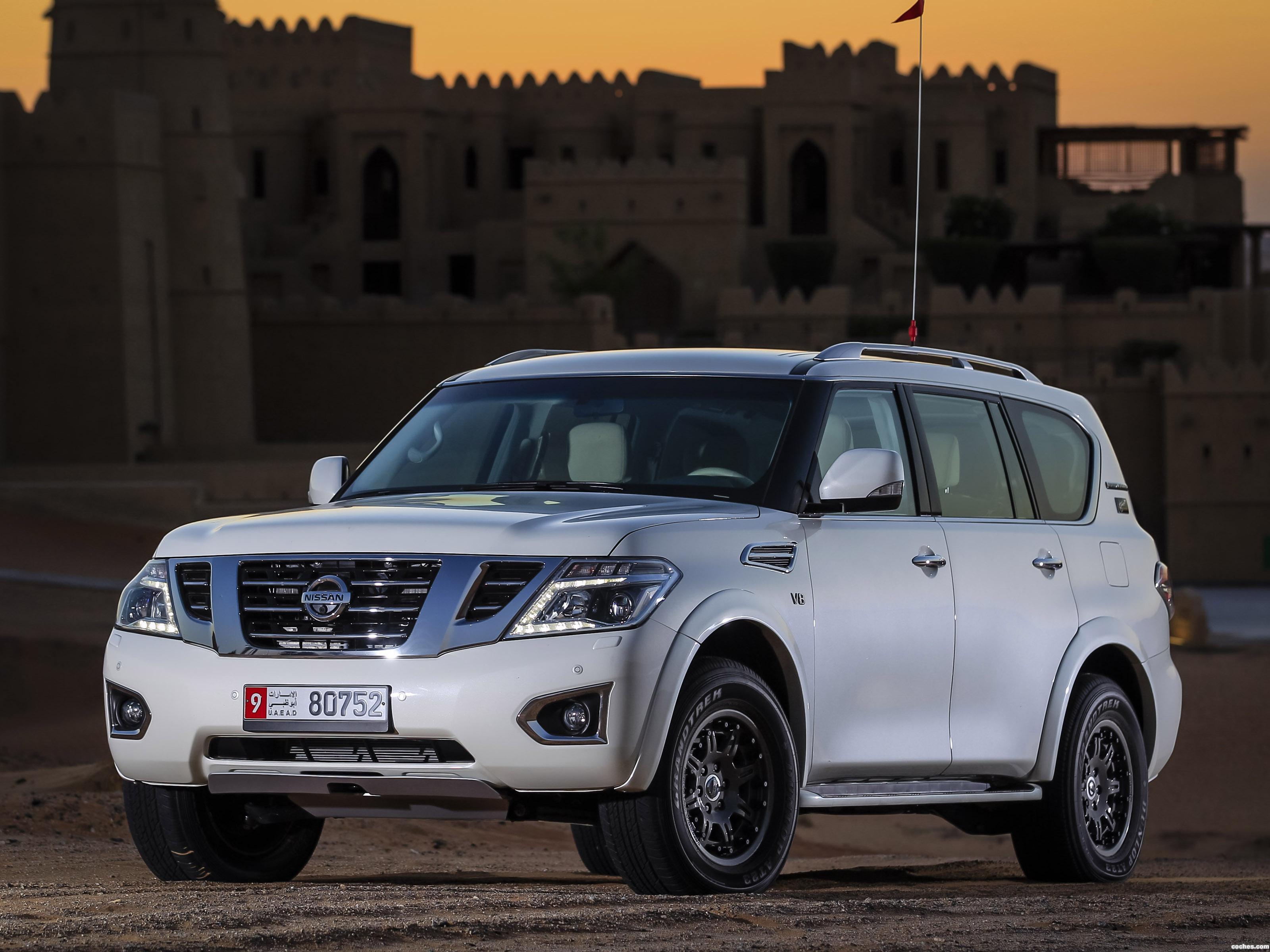 Foto 0 de Nissan Patrol Desert Edition 2015