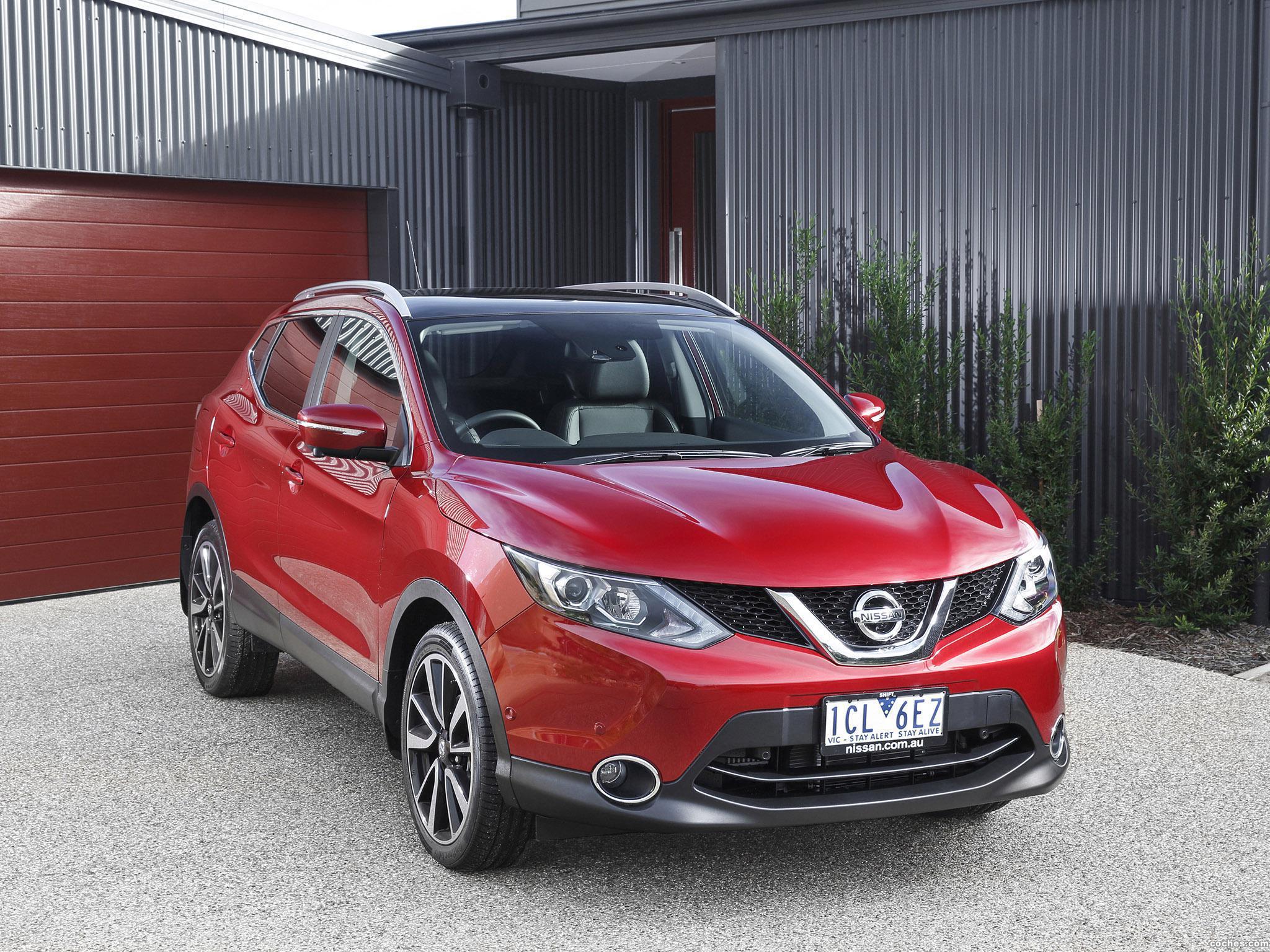 Foto 1 de Nissan Qashqai Australia 2014