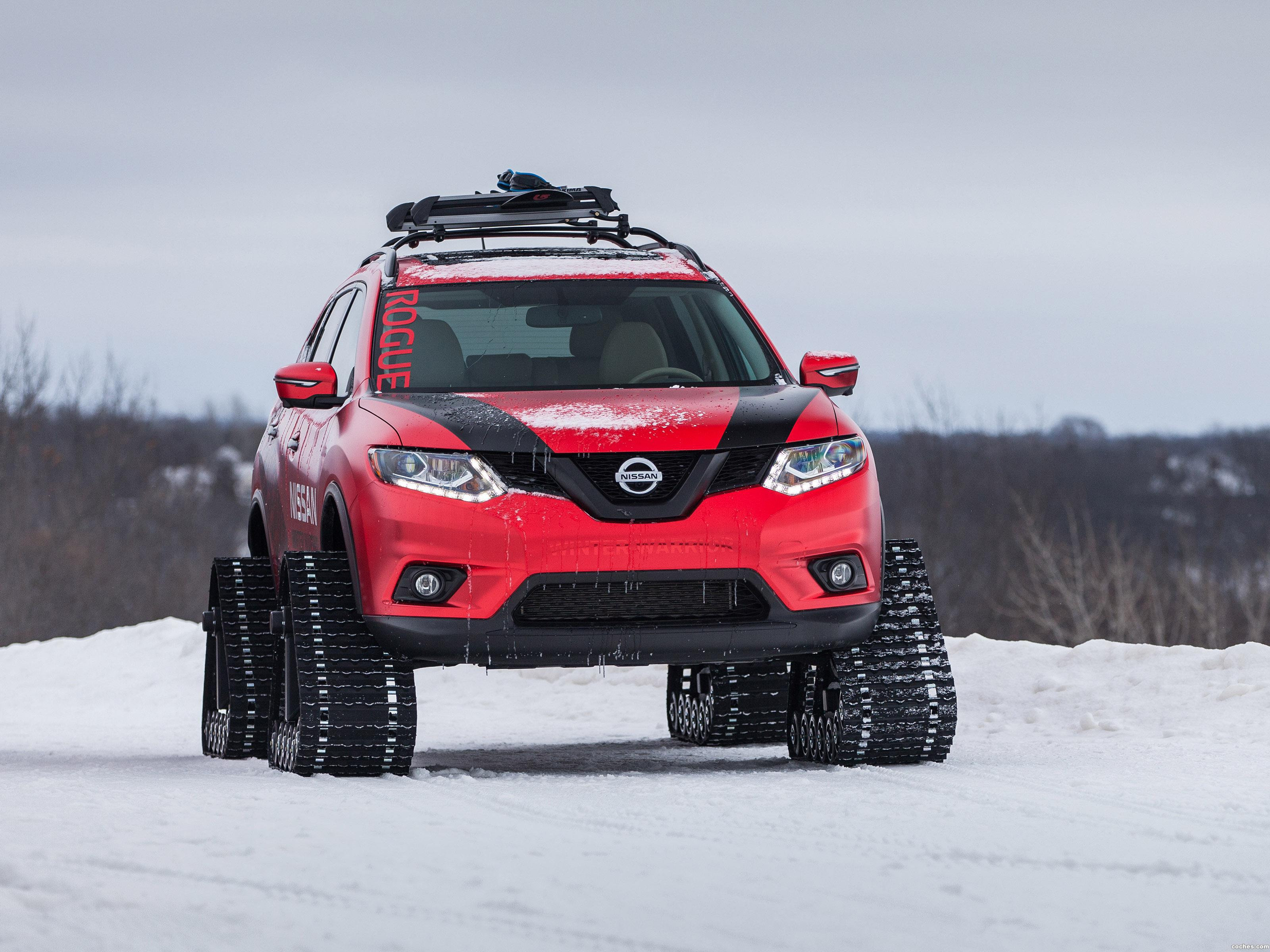 Foto 0 de Nissan Rogue Winter Warrior Concept 2016