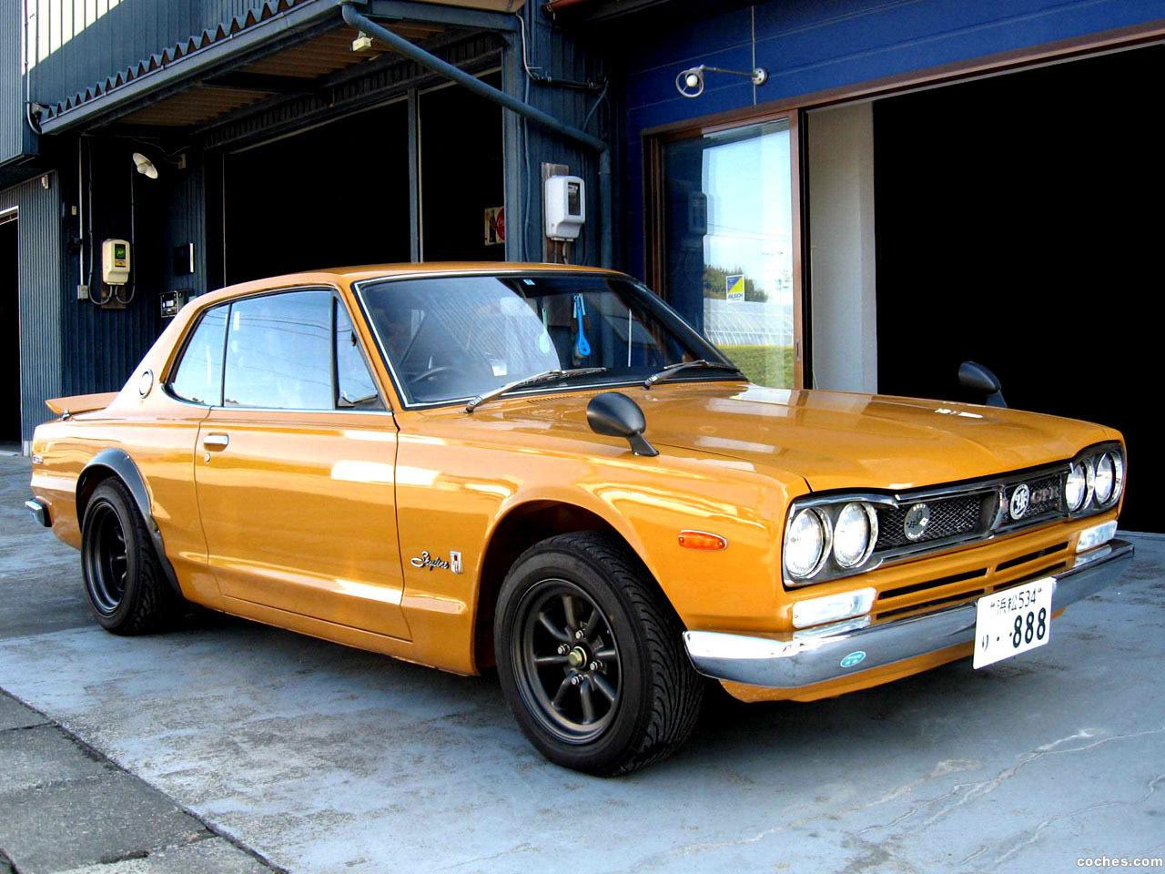 Foto 0 de Nissan Skyline 2000 GT-R KPGC10 1970