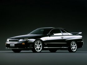 Ver foto 1 de Nissan Skyline 25GT Turbo R34 1998