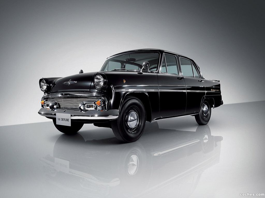 Foto 0 de Nissan Skyline Deluxe ALSID-1 1957