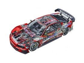 Ver foto 13 de Nissan Skyline GT-R BNR34 JGTC Race Car 1999