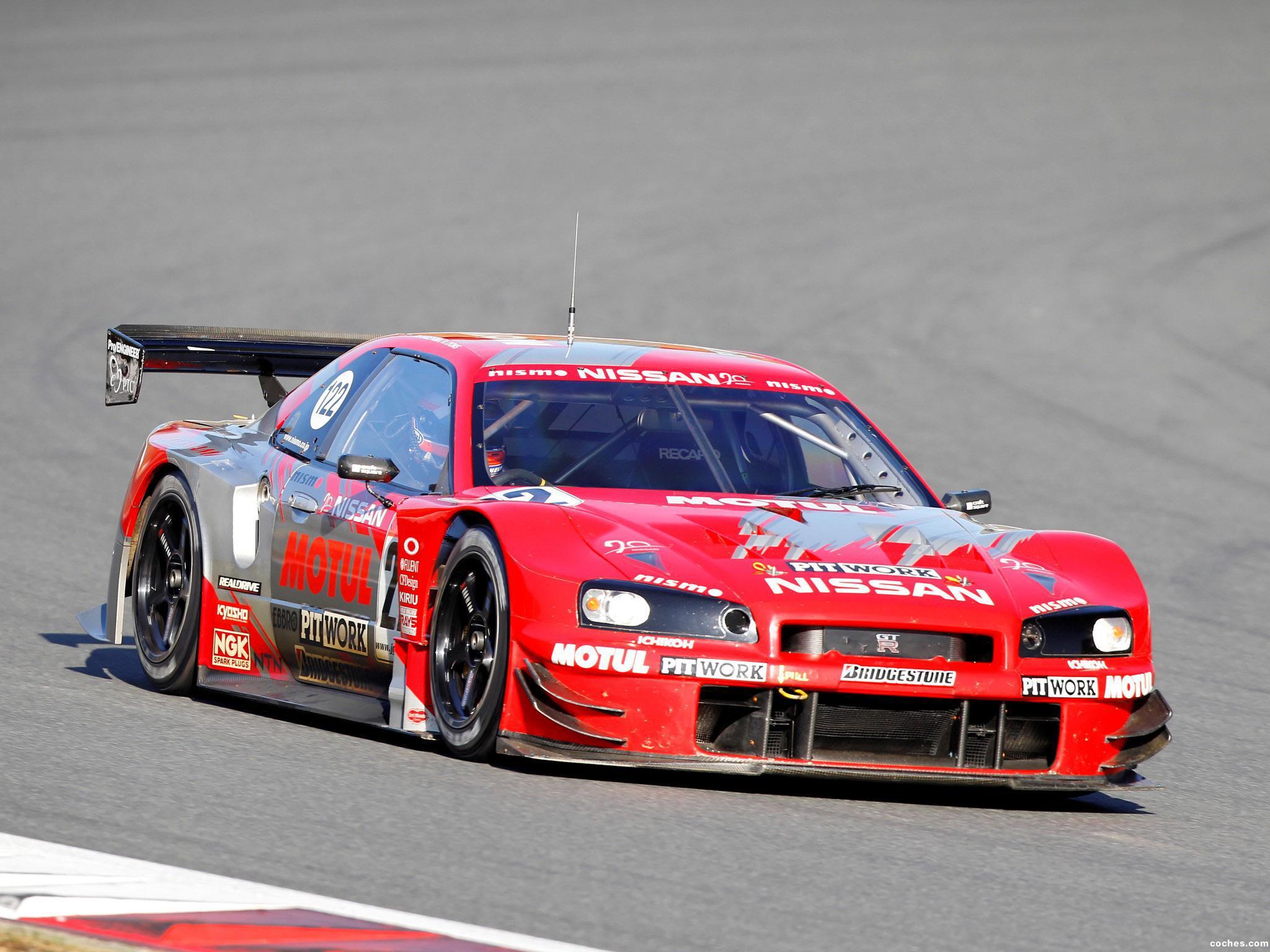 Foto 0 de Nissan Skyline GT-R BNR34 JGTC Race Car 1999