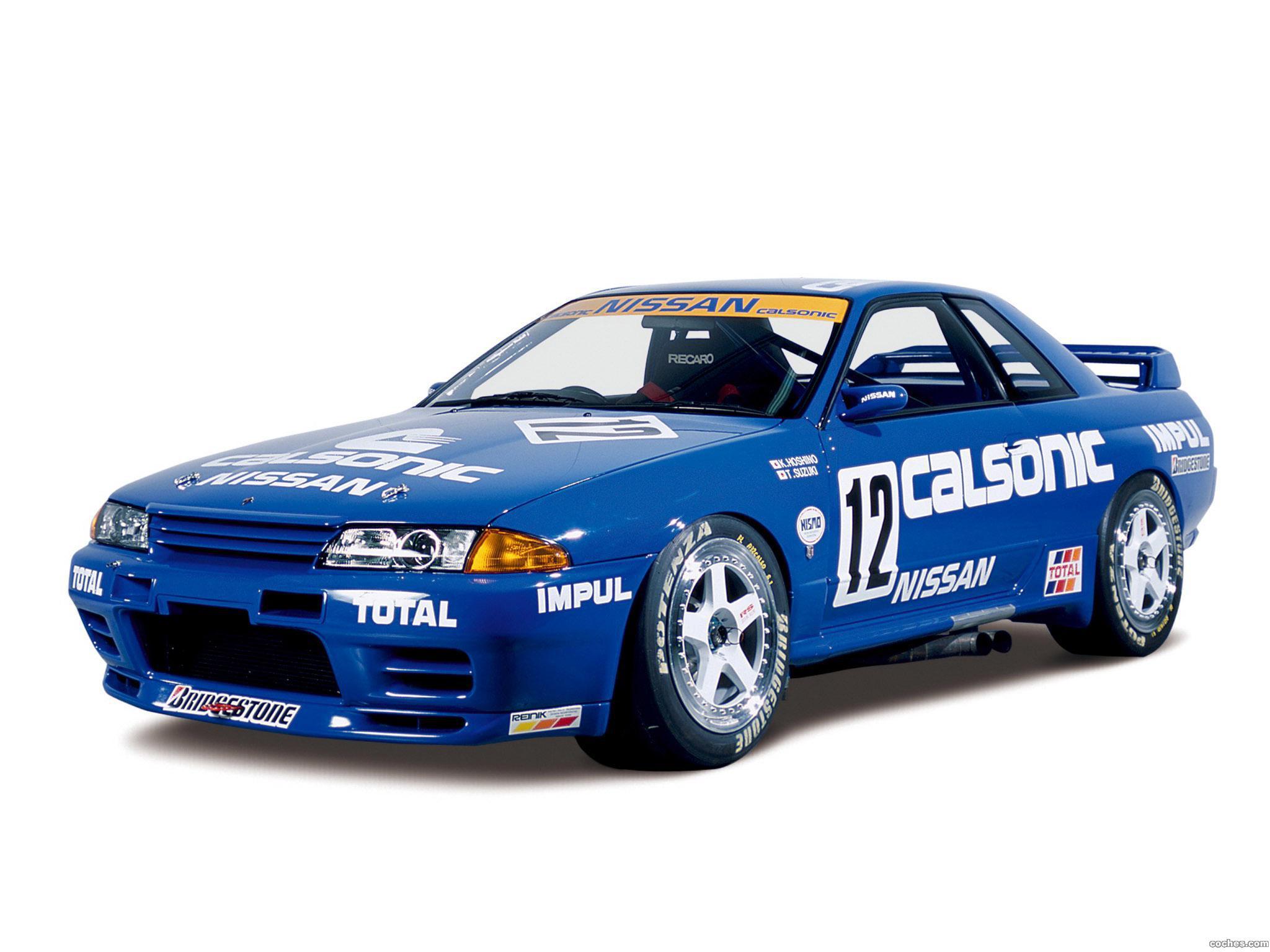 Foto 0 de Nissan Skyline GT-R JGTC Race Car R32 1989