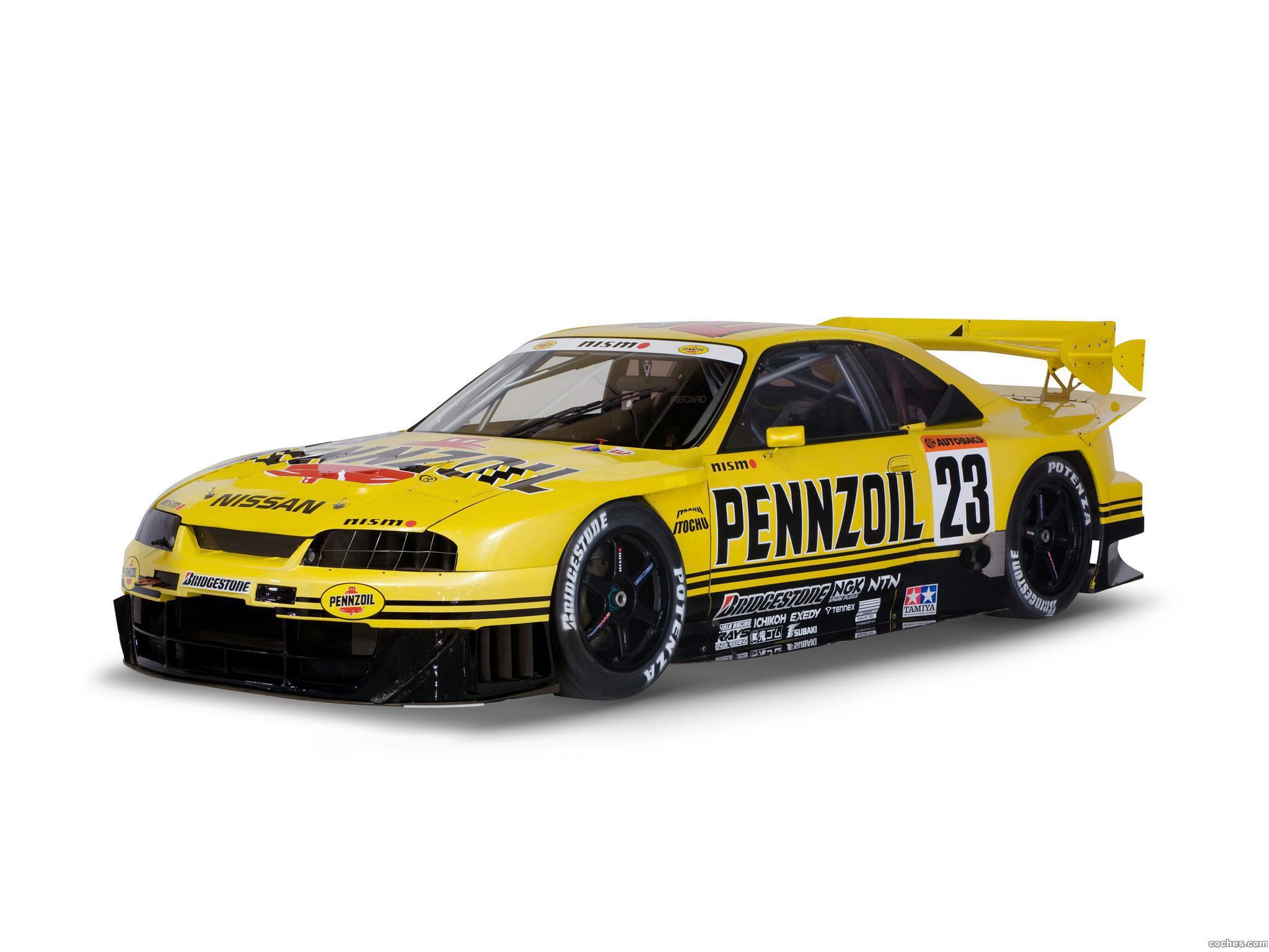 Foto 0 de Nissan Skyline GT-R JGTC Race Car R33 1995