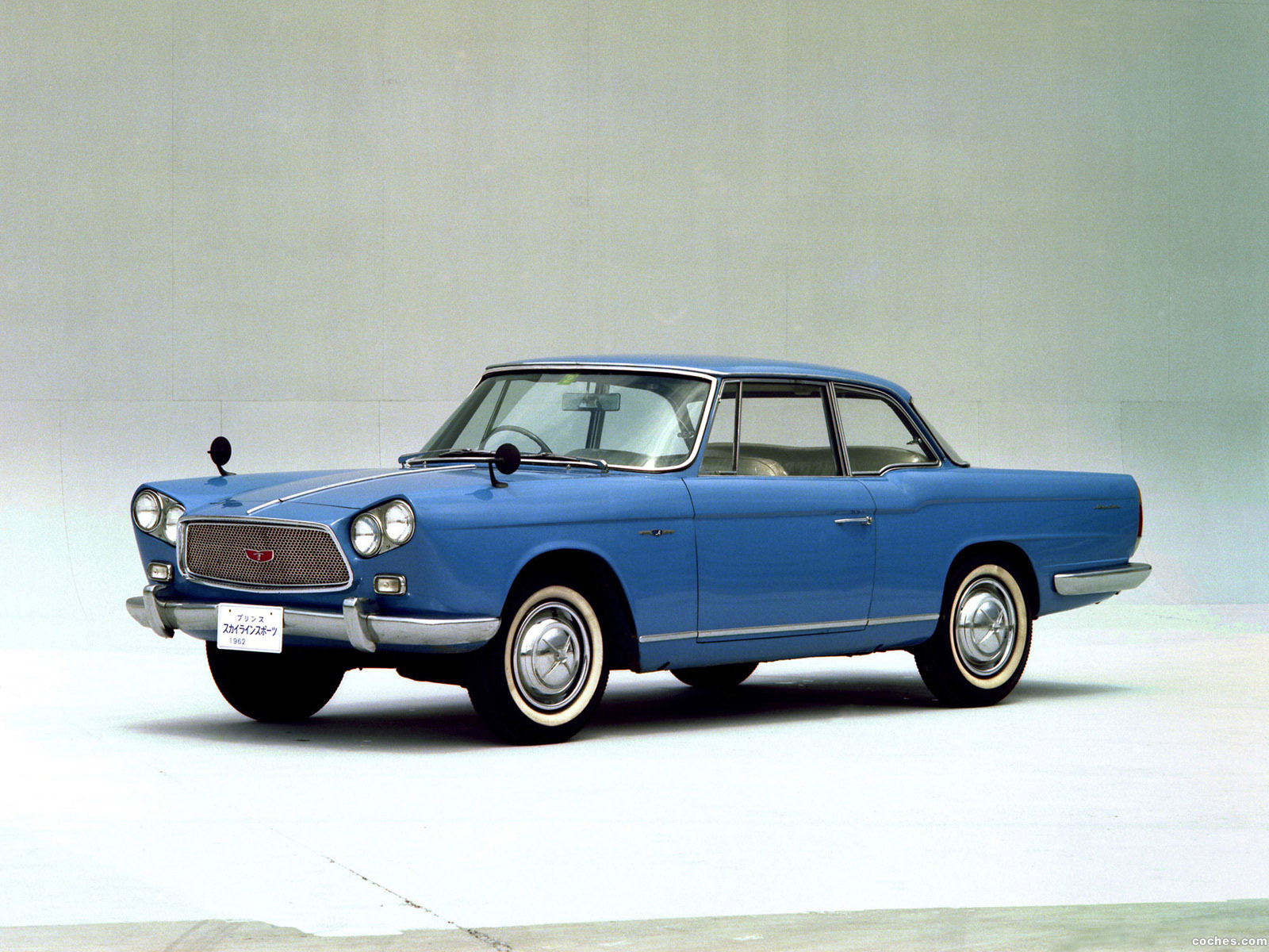 Foto 0 de Nissan Skyline Sport Coupe BLRA-3 1962