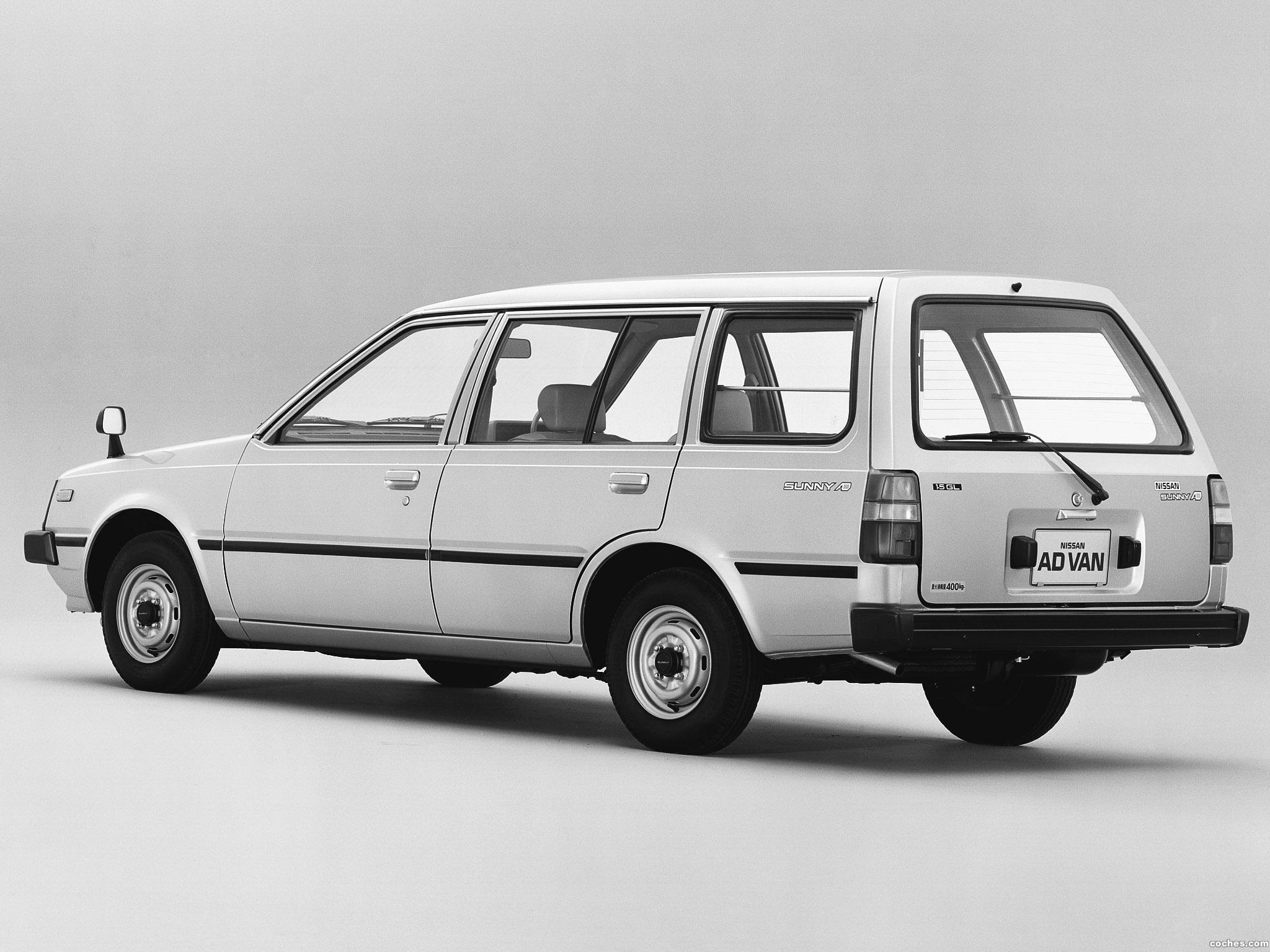 Foto 1 de Nissan Sunny Ad Van VB11 1985