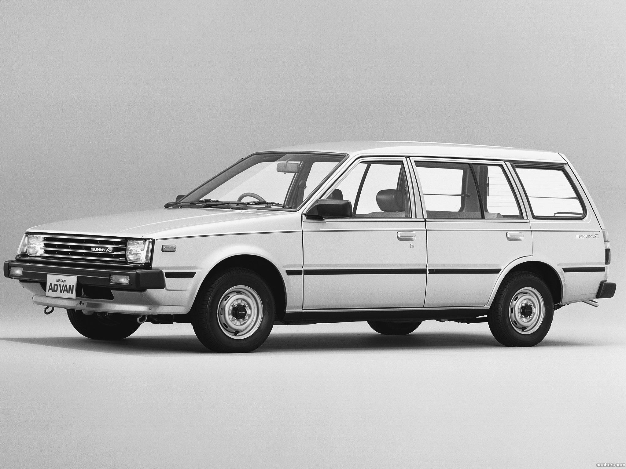 Foto 0 de Nissan Sunny Ad Van VB11 1985