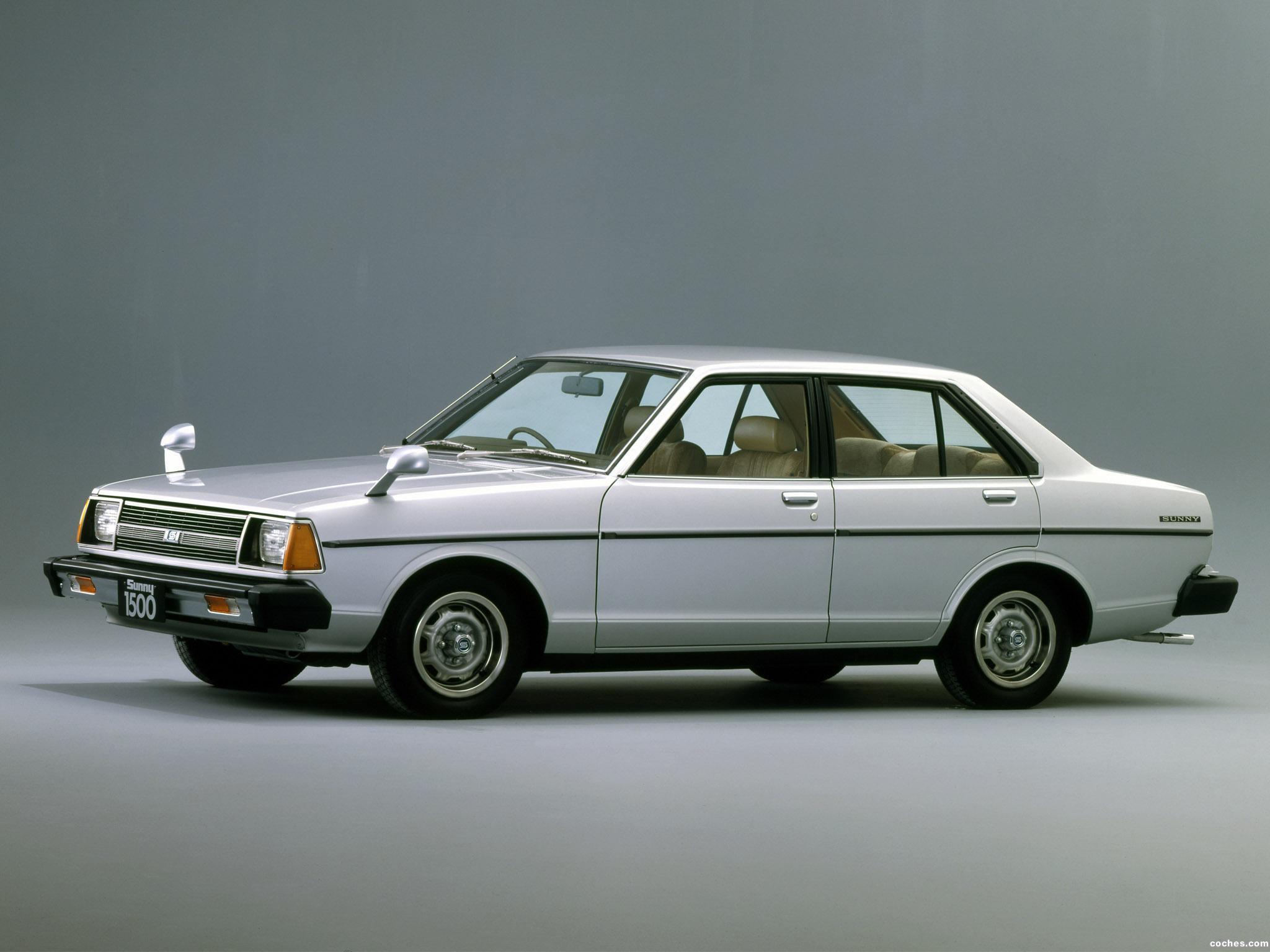 Foto 0 de Nissan Sunny B310 1979
