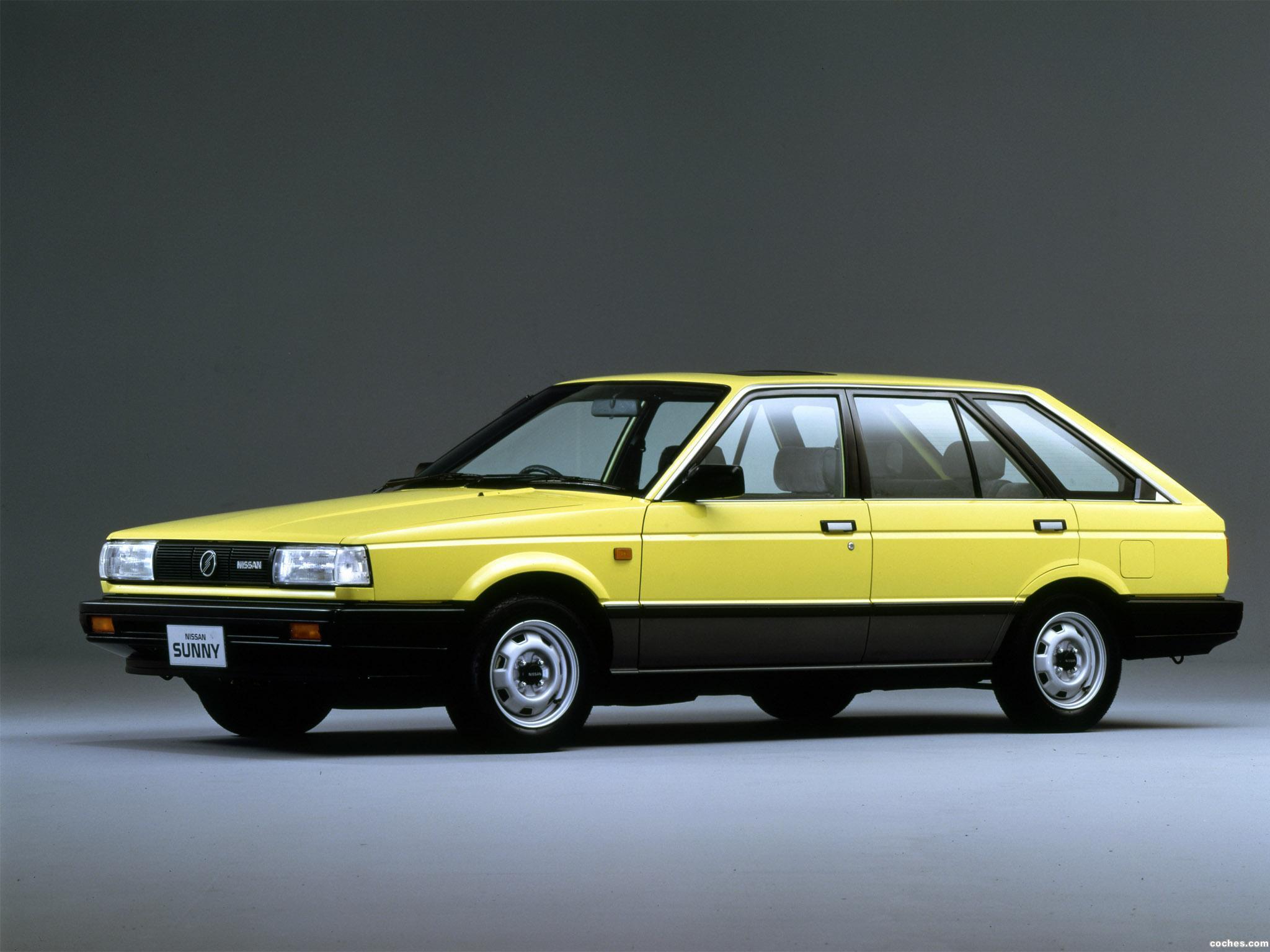 Foto 0 de Nissan Sunny California 1.5 SGL B12 1985