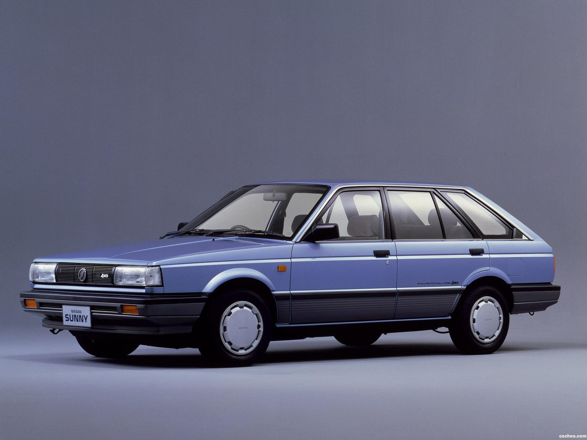 Foto 0 de Nissan Sunny California 4WD B12 1986