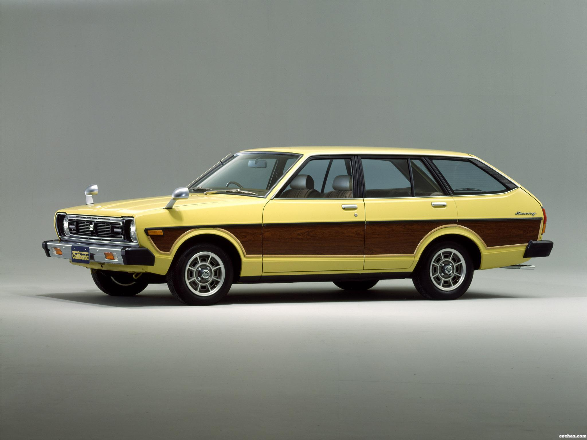 Foto 0 de Nissan Sunny California B310 1979