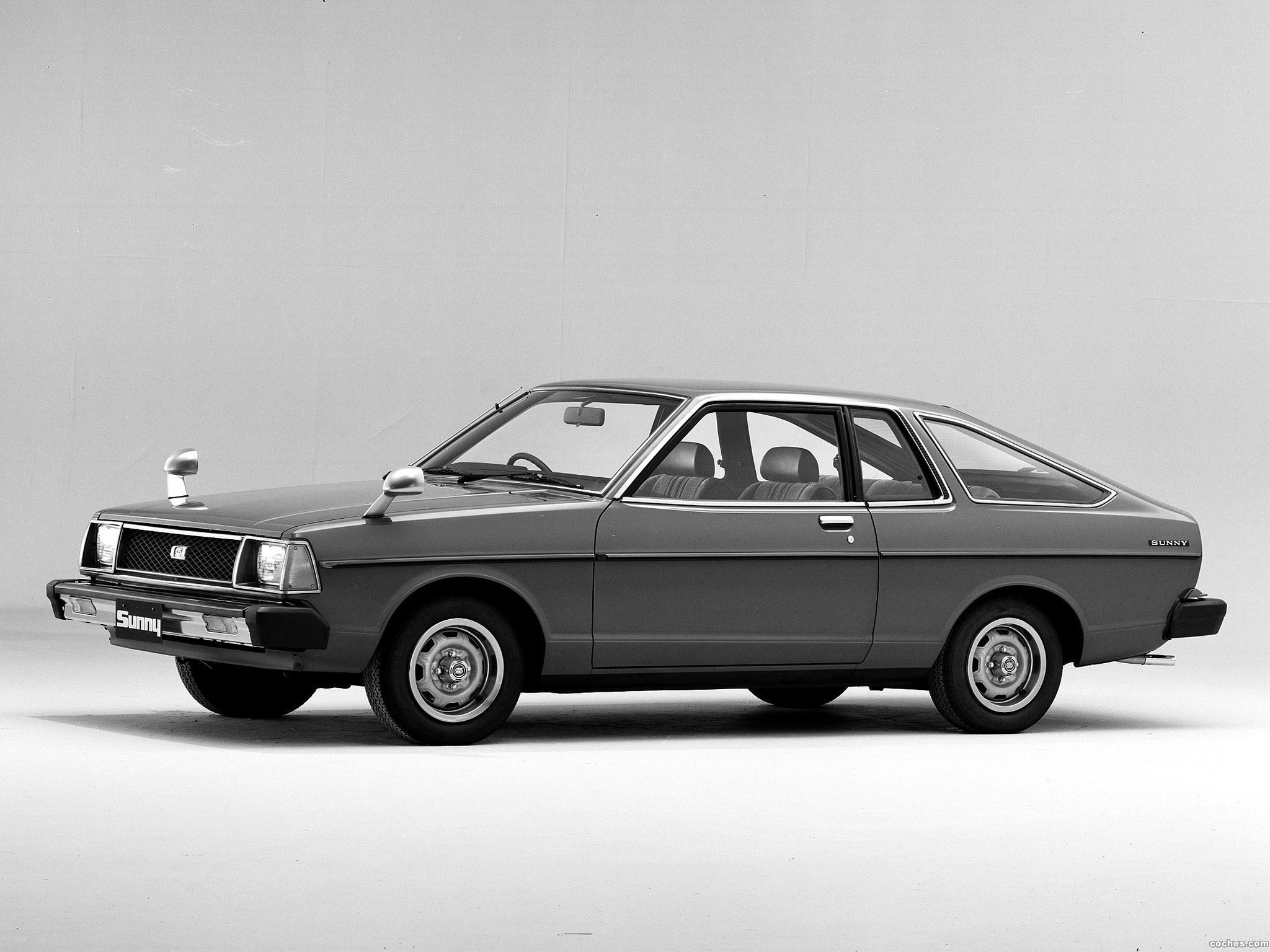 Foto 0 de Nissan Sunny Coupe SGX B310 1979