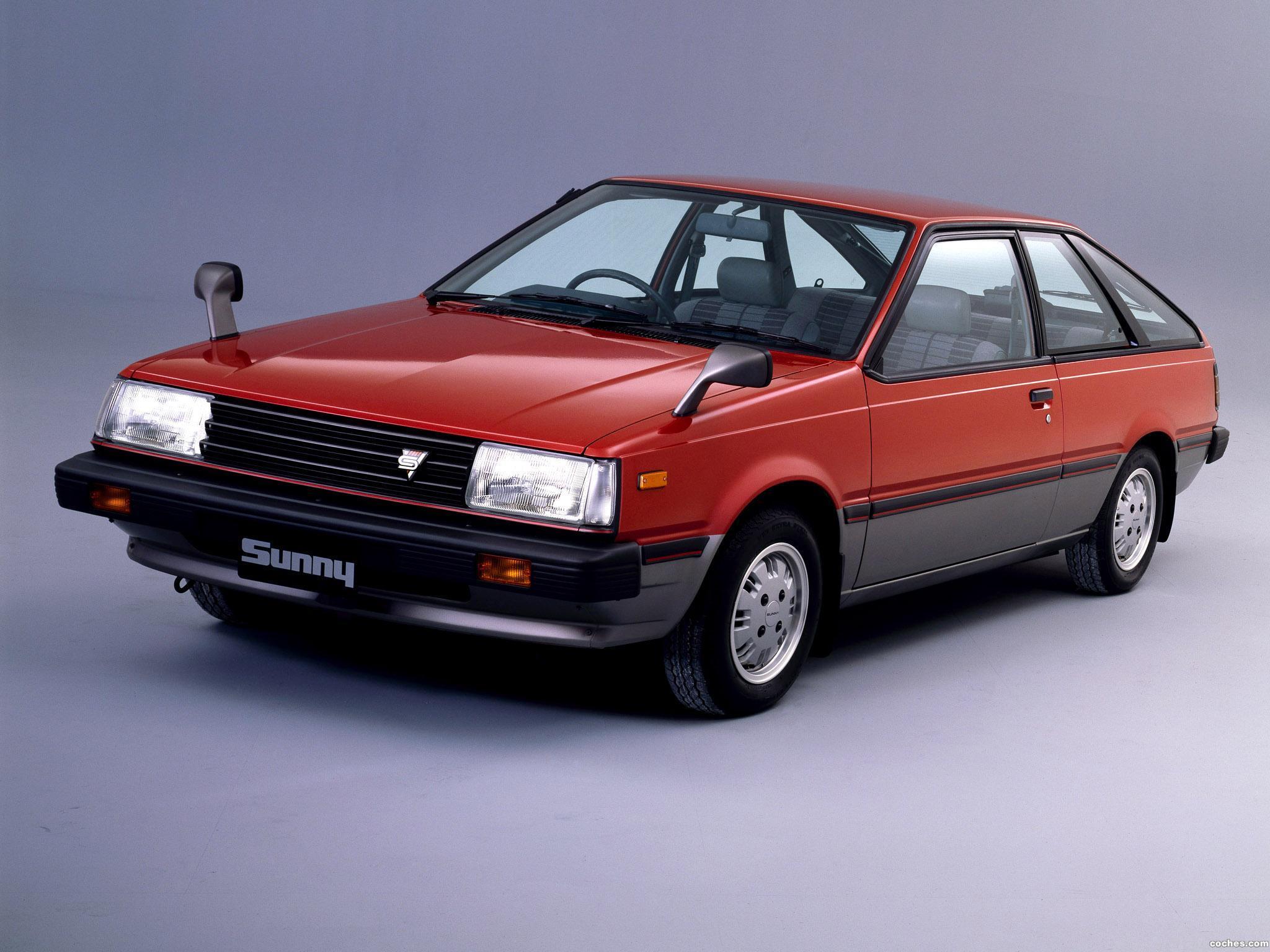 Foto 0 de Nissan Sunny Coupe SGXE B11 Japan 1983