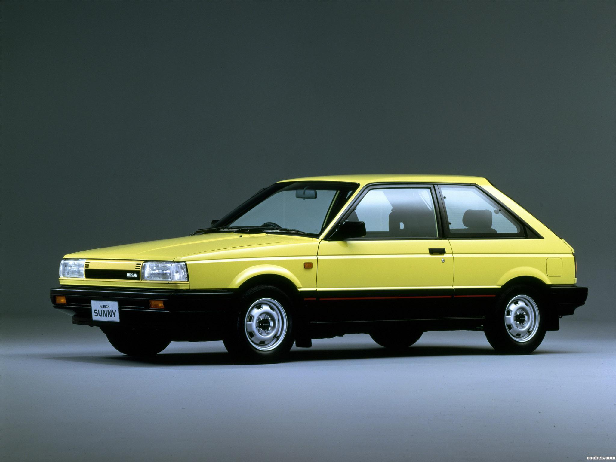 Foto 0 de Nissan Sunny Hatchback 305 Re B12 1985