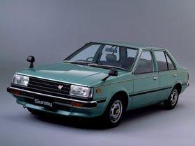 Ver foto 1 de Nissan Sunny Sedan 1.7 GLD B11 1981