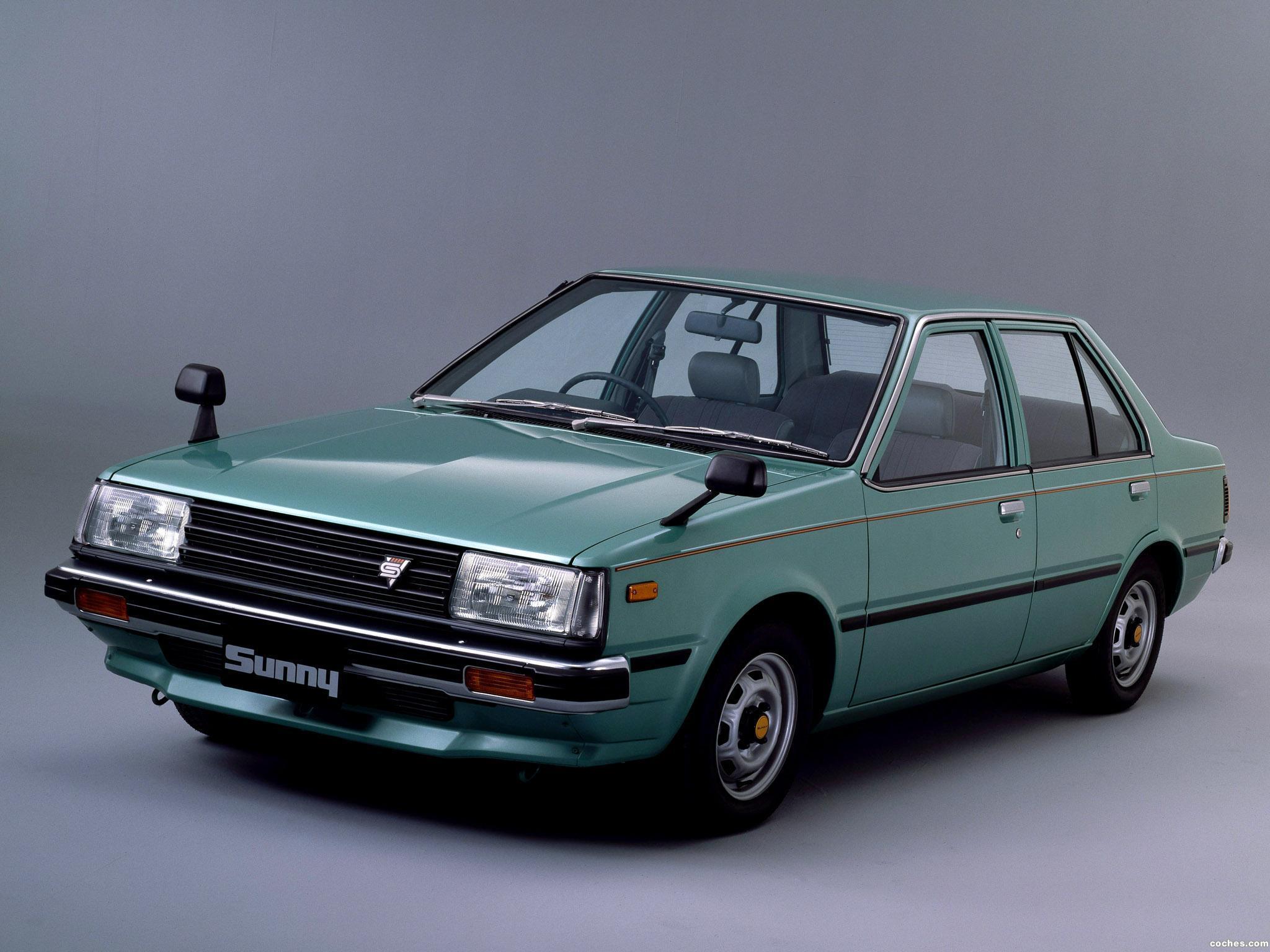 Foto 0 de Nissan Sunny Sedan 1.7 GLD B11 1981