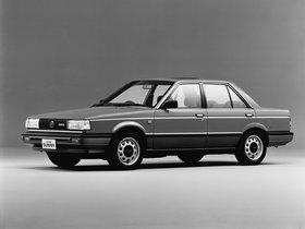 Ver foto 1 de Nissan Sunny Sedan B12 1985