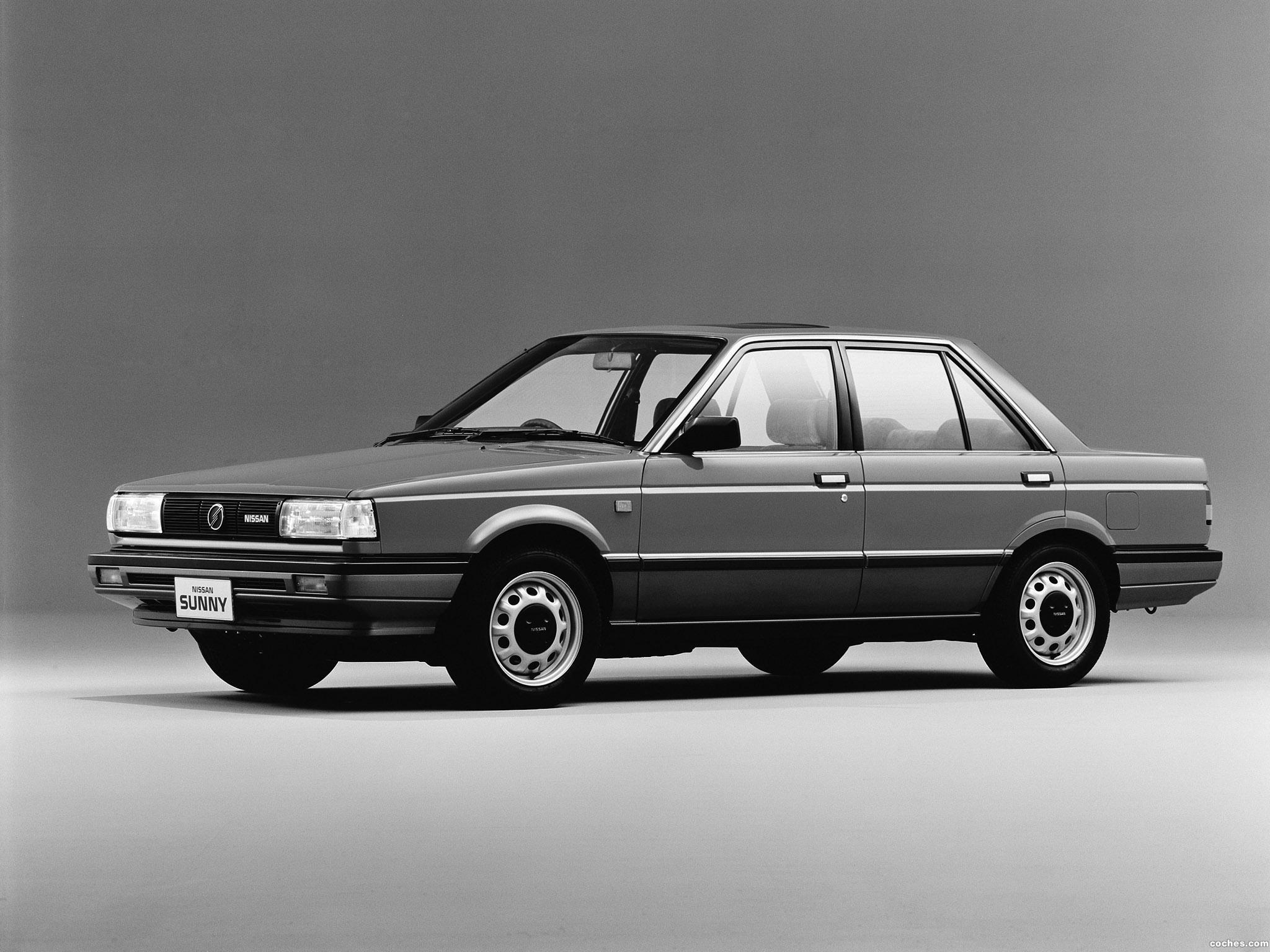 Foto 0 de Nissan Sunny Sedan B12 1985