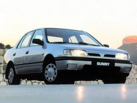 Ver foto 3 de Nissan Sunny Sedan N14 1990