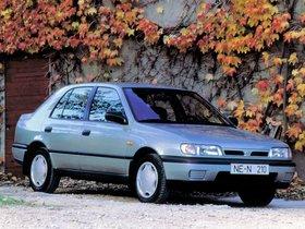 Ver foto 2 de Nissan Sunny Sedan N14 1990