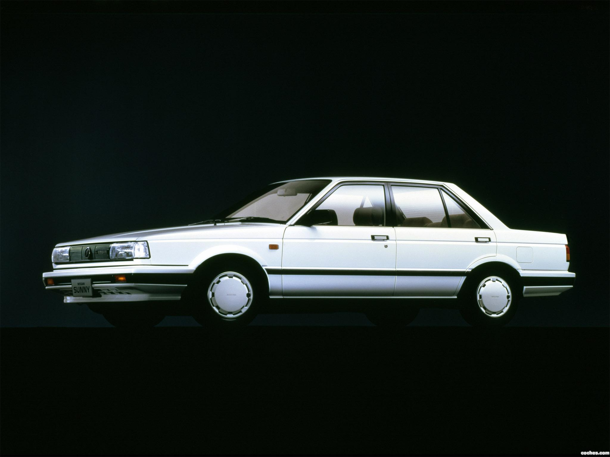 Foto 0 de Nissan Sunny SuperSaloon B12 1985