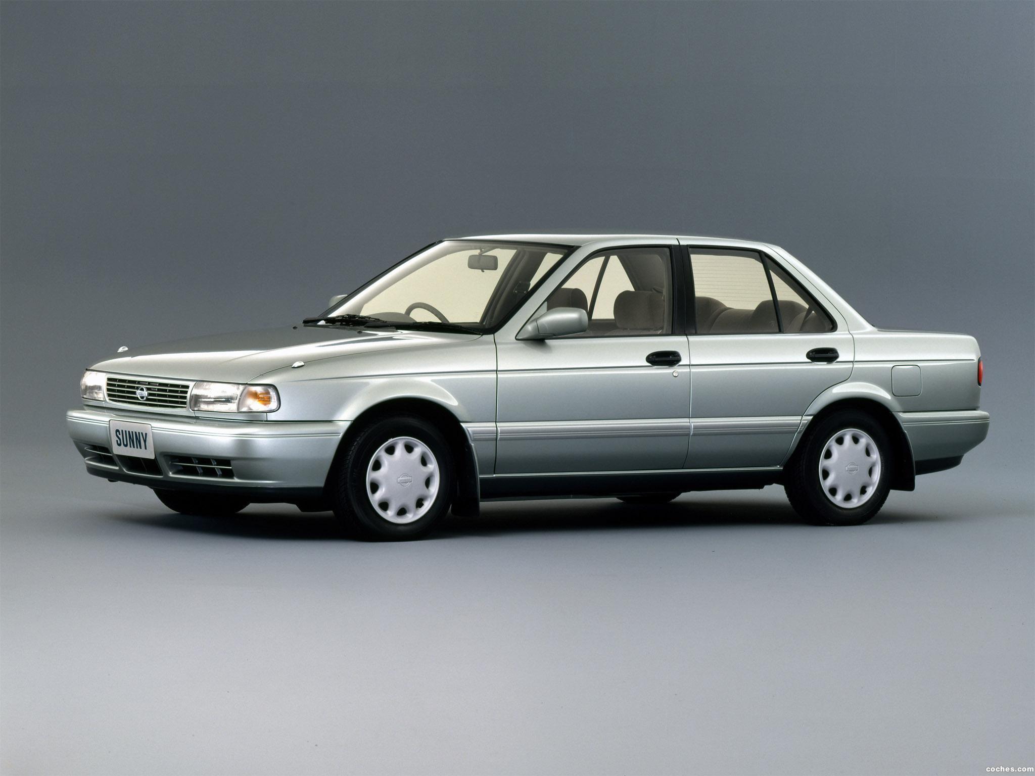Fotos de Nissan Sunny SuperSaloon B13 1992