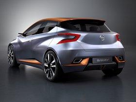 Ver foto 7 de Nissan Sway Concept 2015