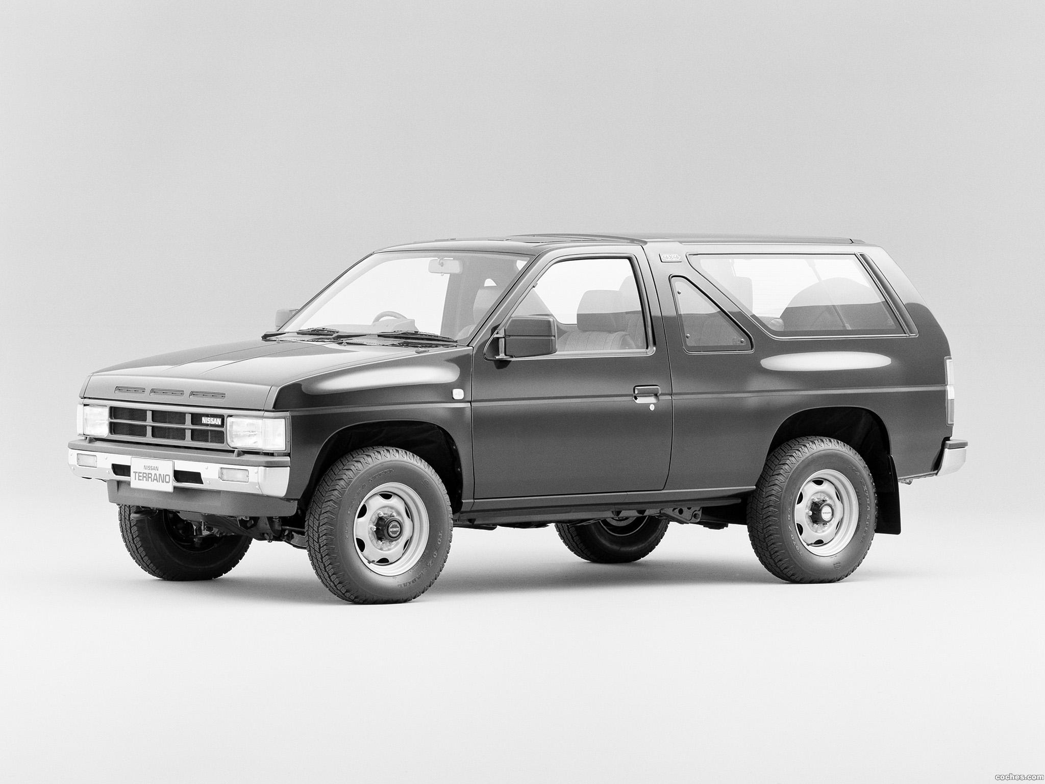 Foto 0 de Nissan Terrano 2 puertas A1M VBYD21  1987