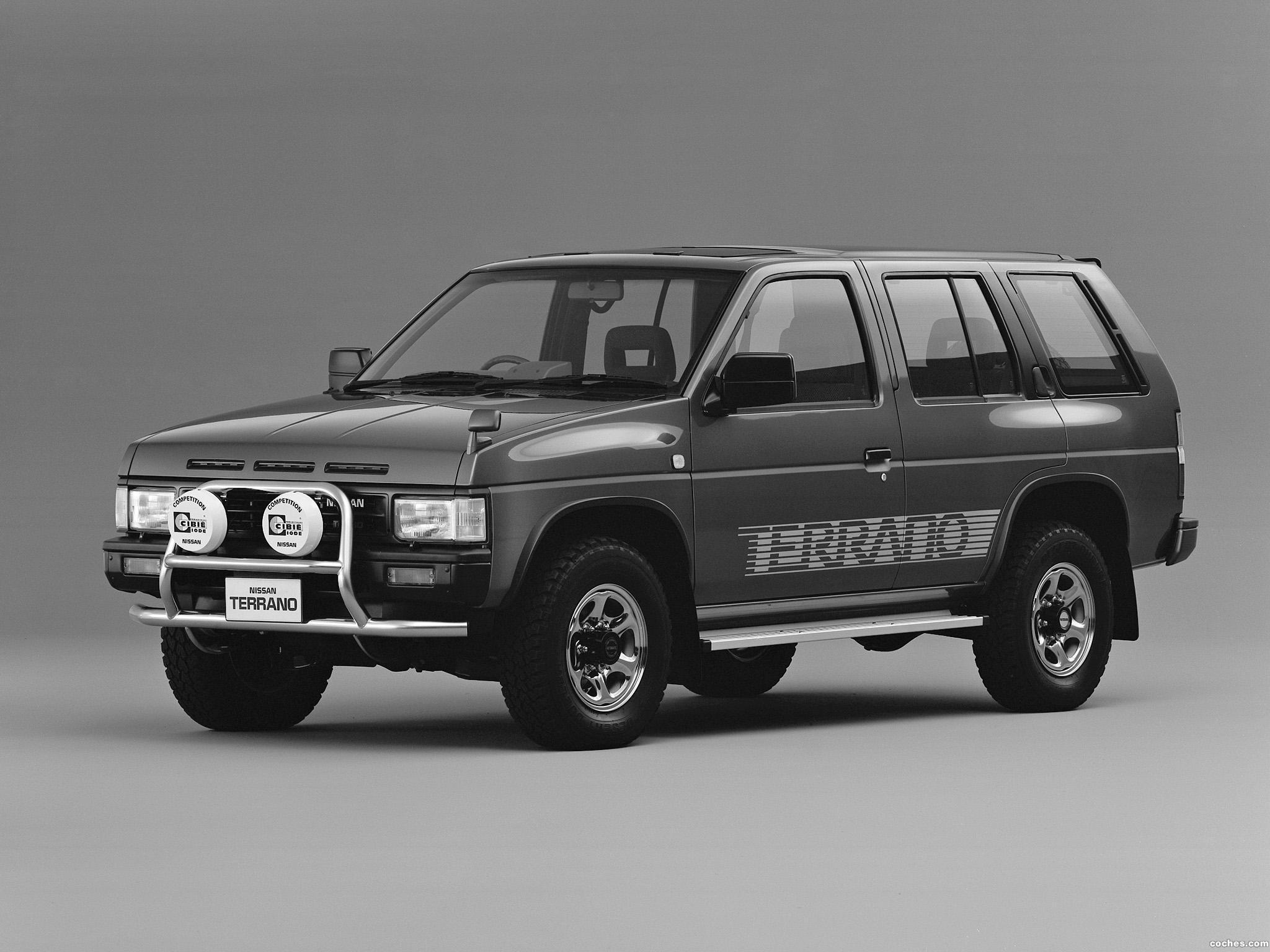 Foto 0 de Nissan Terrano 4 puertas Turbo R3M Selection V WBYD21 1991