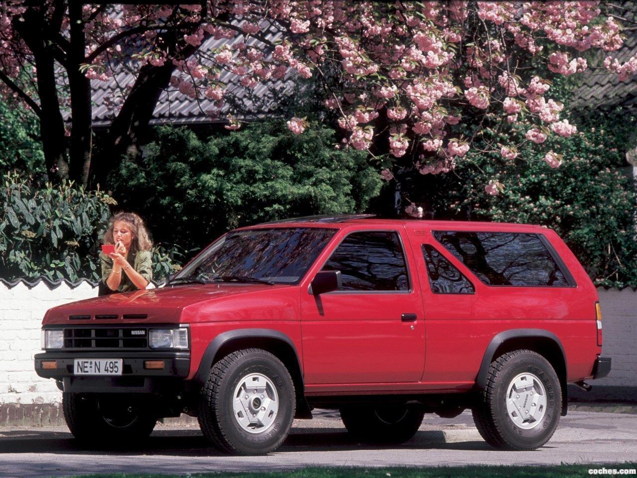 Foto 0 de Nissan Terrano 4x4 2 puertas Europe WD21 1989